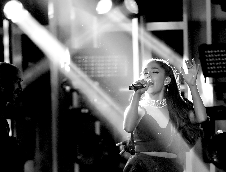 Ariana Grande Life Performance