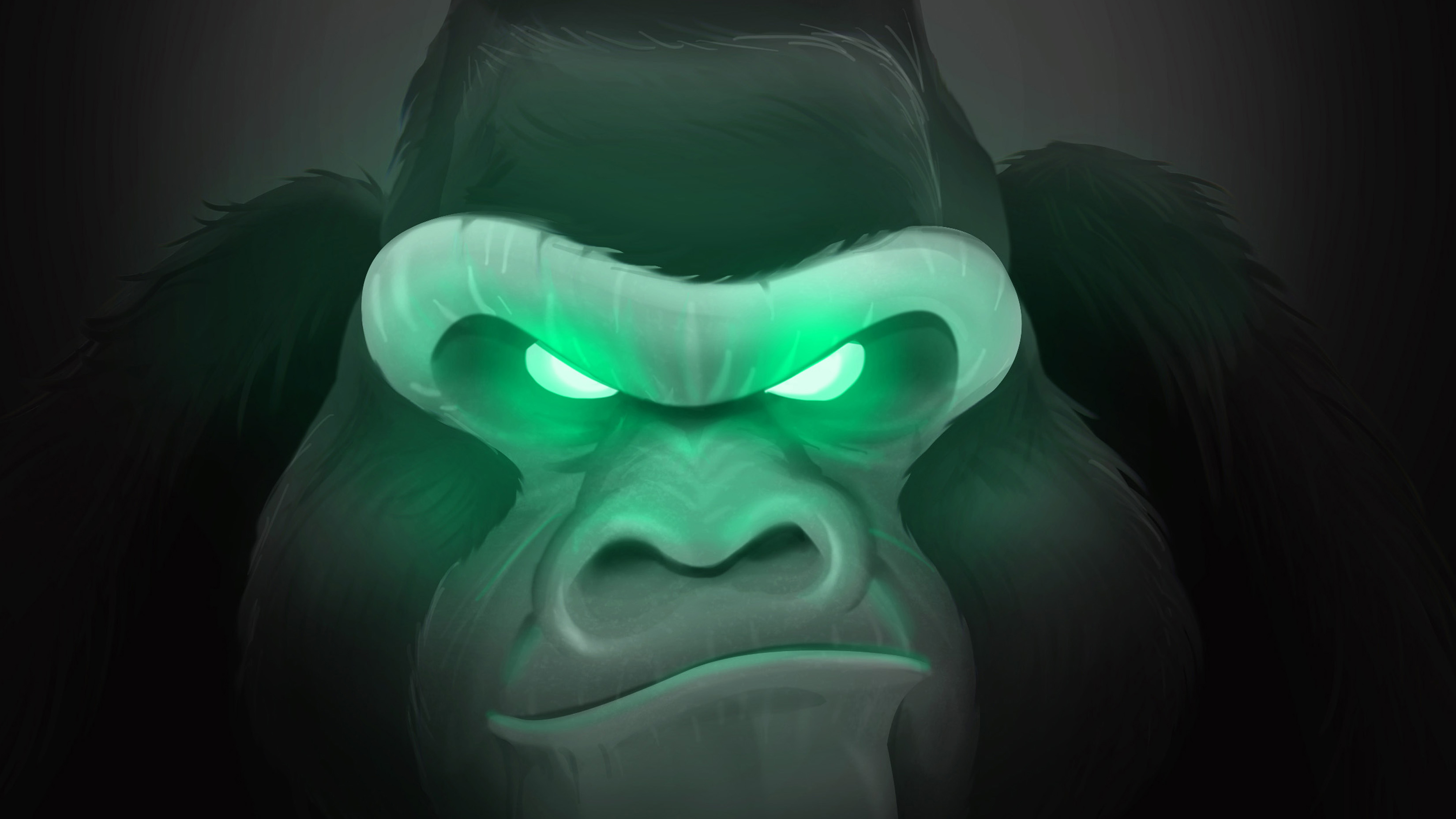 Art Gorilla Hd Artist 4k Wallpapers Images Backgrounds