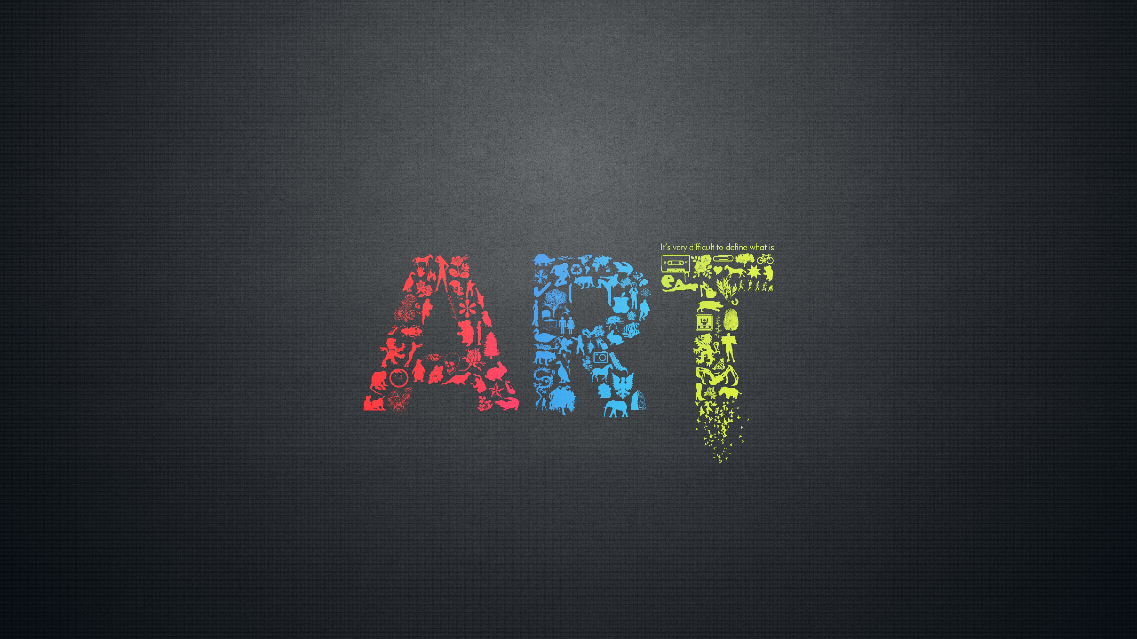 art letters creative minimalsim, hd creative, 4k wallpapers, images