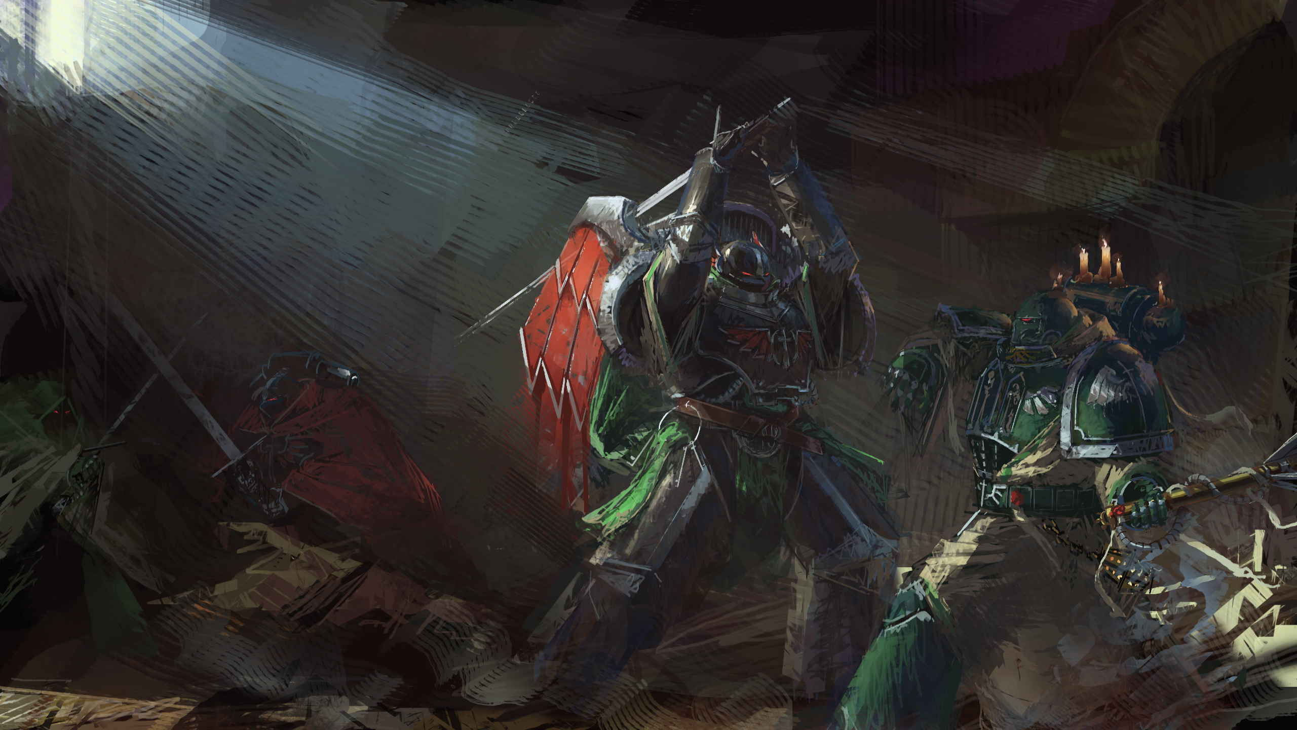 Artwork Warhammer 40k Hd Games 4k Wallpapers Images