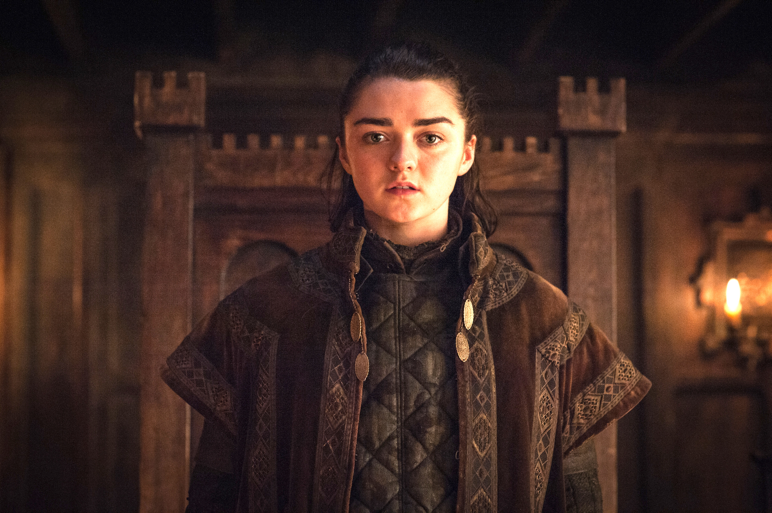 arya stark game of thrones season 7, hd tv shows, 4k wallpapers