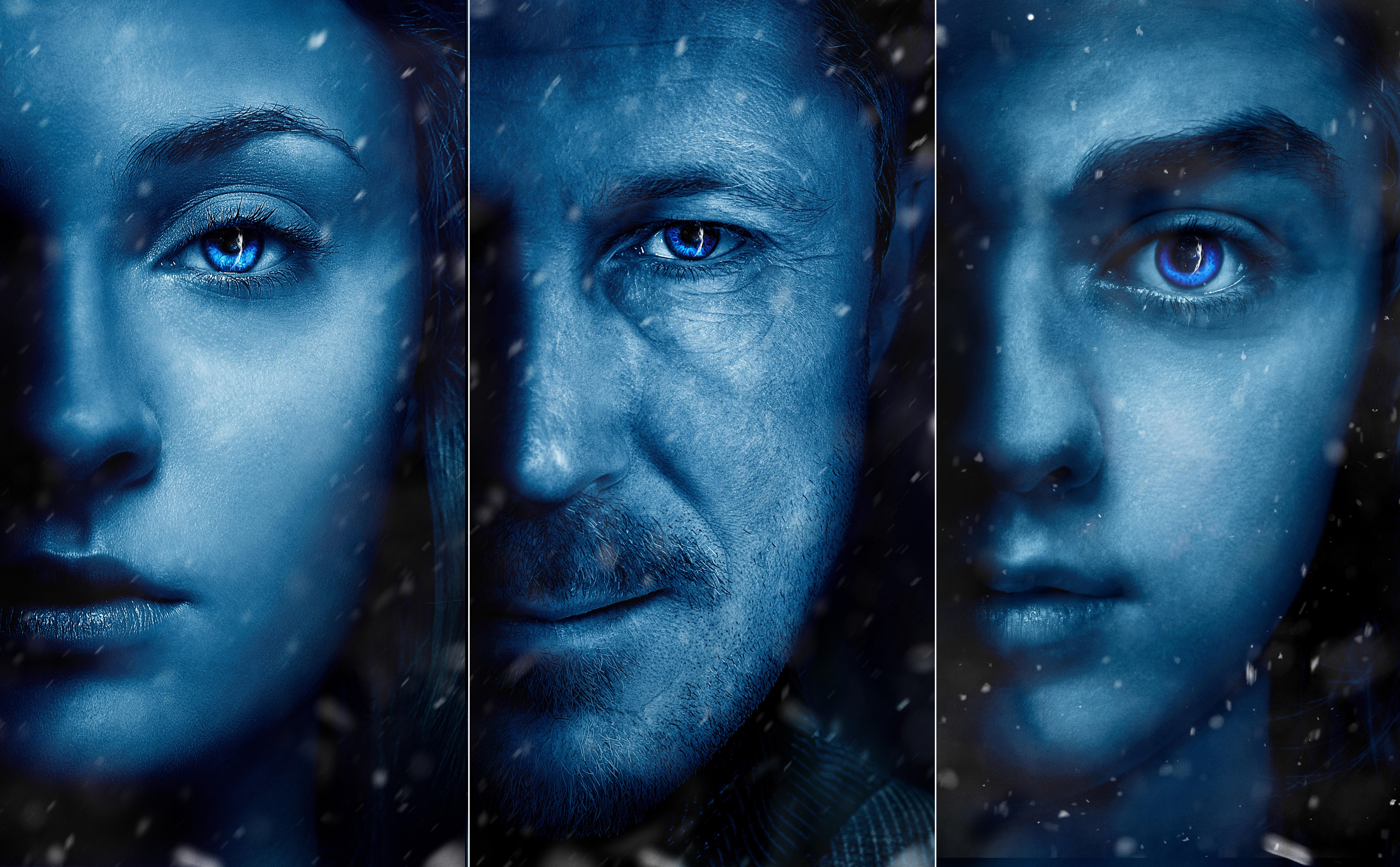 Arya Stark Sansa Stark Petyr Baelish Posters Game Of Thrones Season