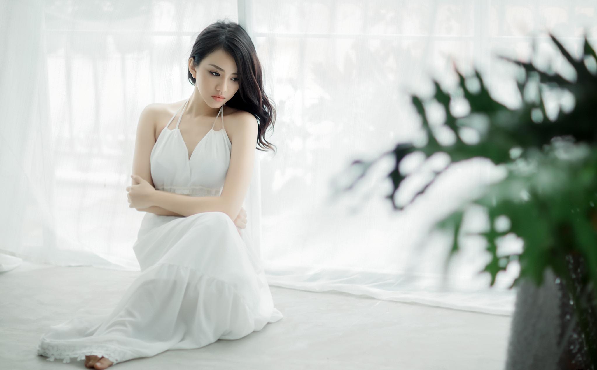 Asian brunette girl hd girls 4k wallpapers images - Asian girl 4k ...