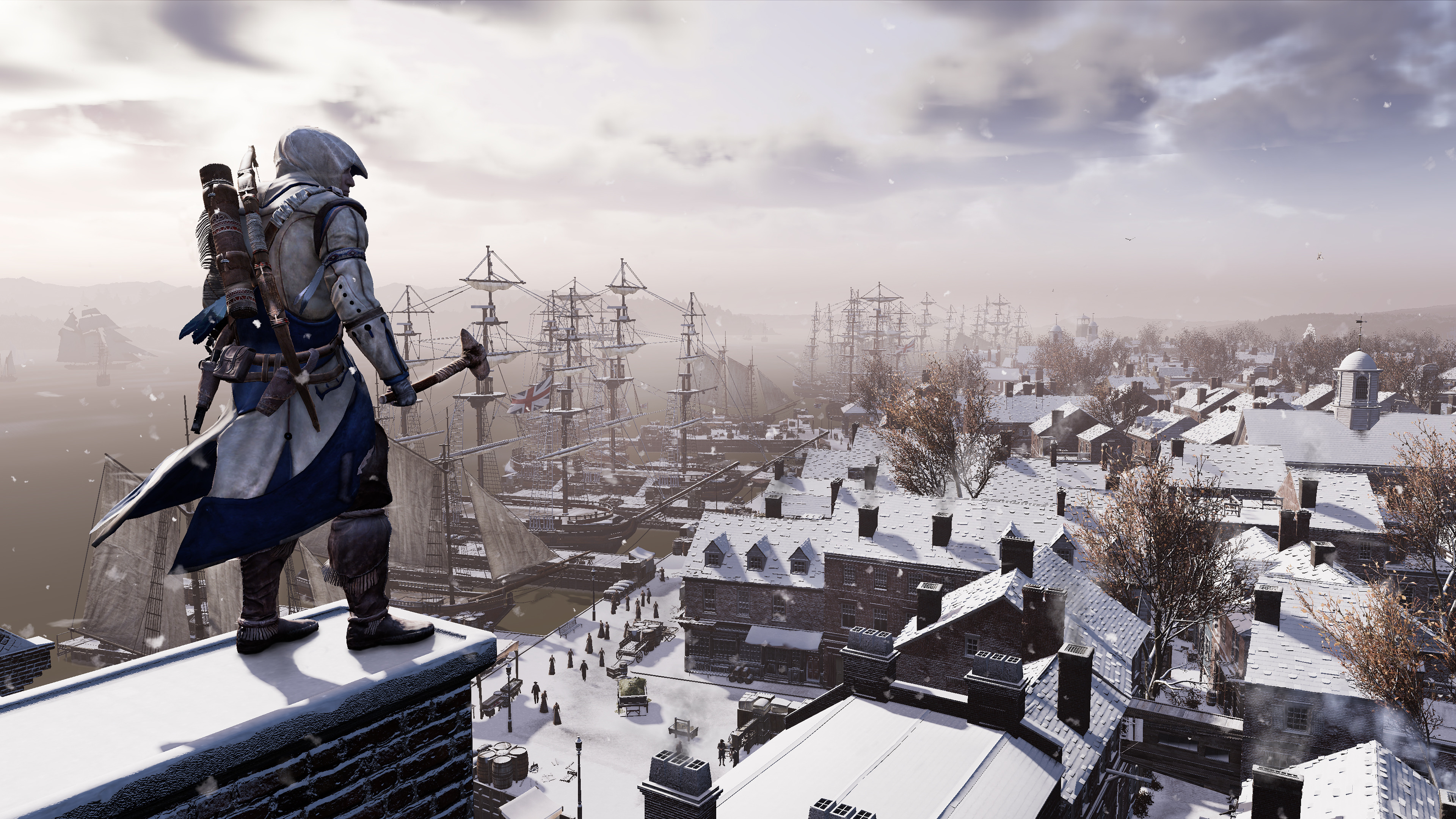 Assassins Creed 3 Remastered 4k Hd Games 4k Wallpapers