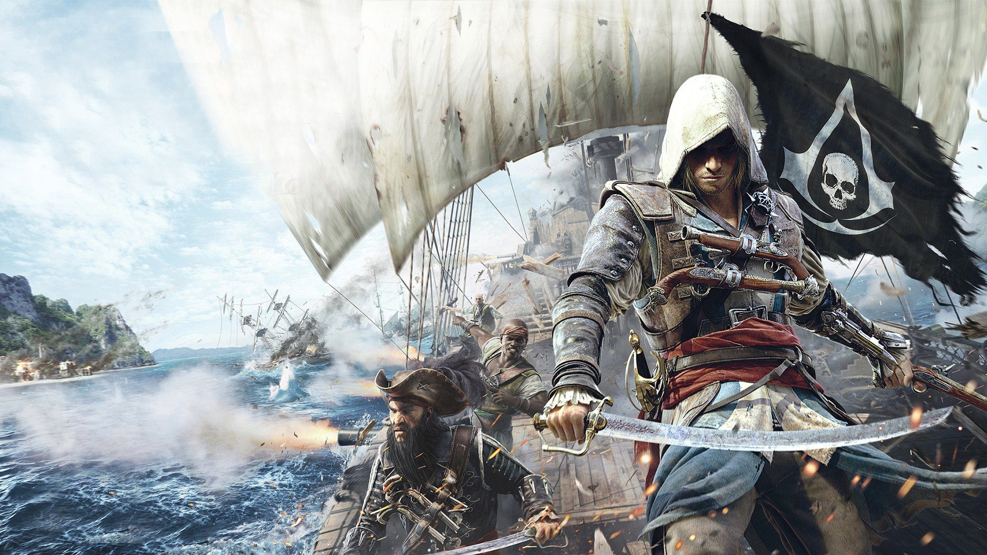 wallpaper assassins creed iv - photo #15