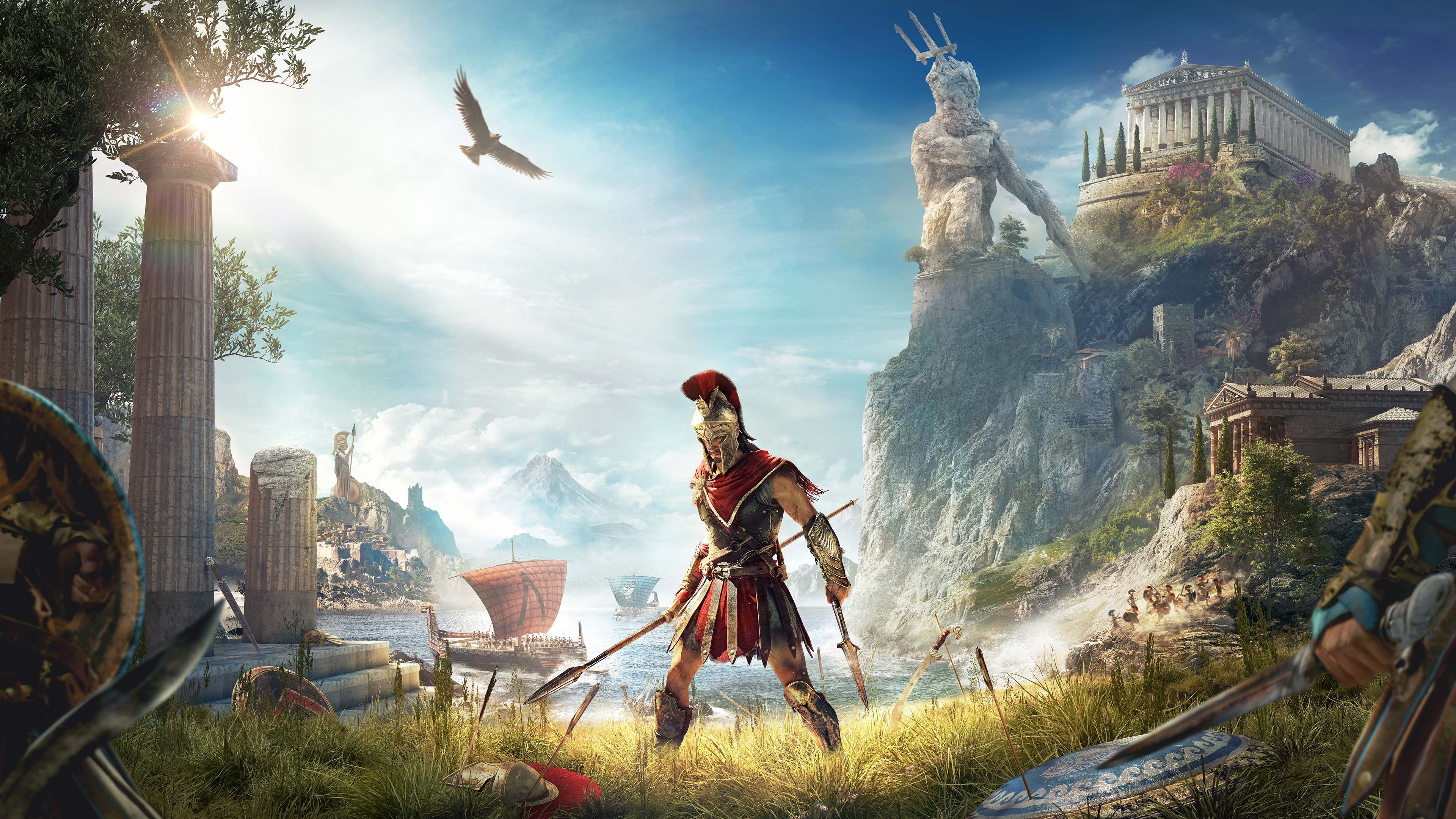 Assassins Creed Odyssey 2018 4k, HD Games, 4k Wallpapers