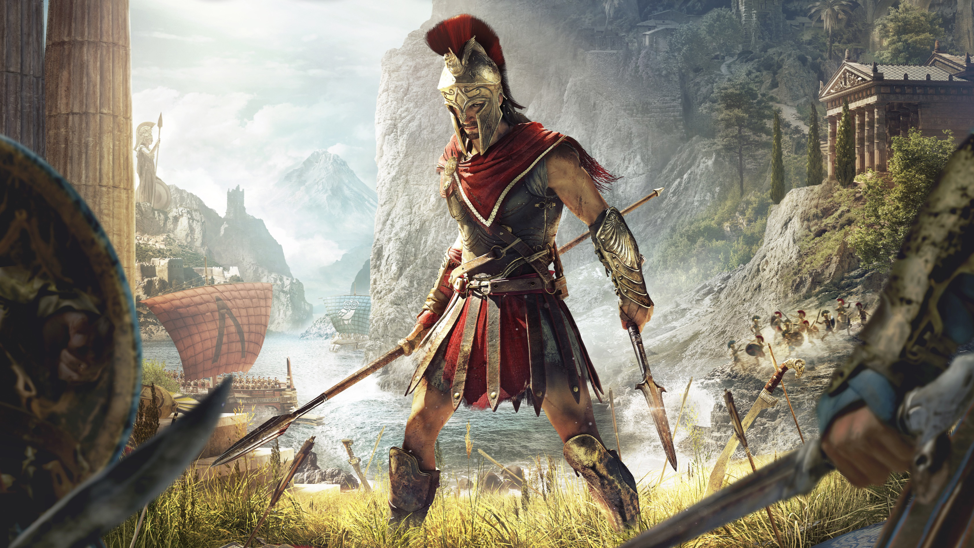 Assassins Creed Odyssey 4k Hd Games 4k Wallpapers Images