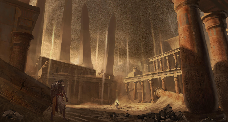 Assassins Creed Origins Concept Art 5k, HD Games, 4k
