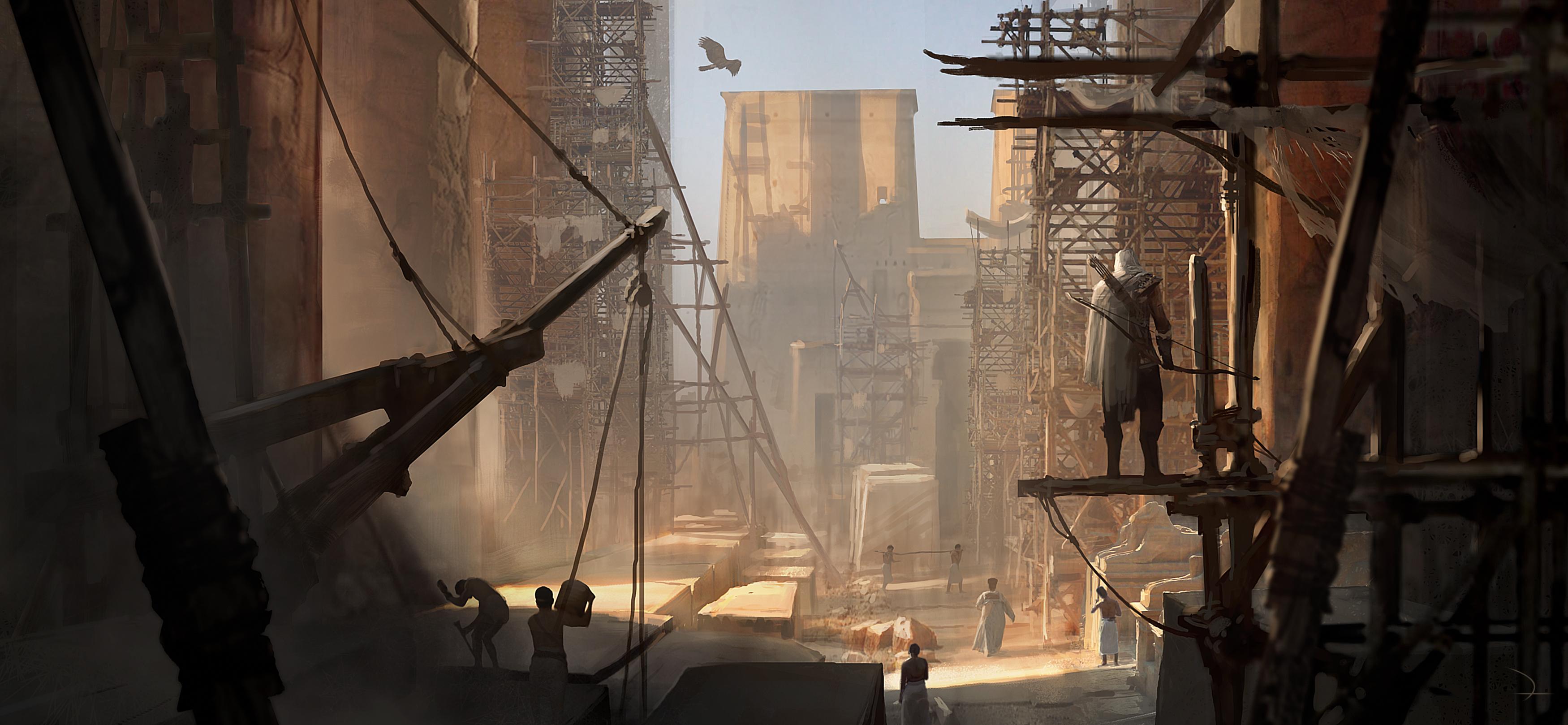 Assassins Creed Origins Concept Art, HD Games, 4k ...