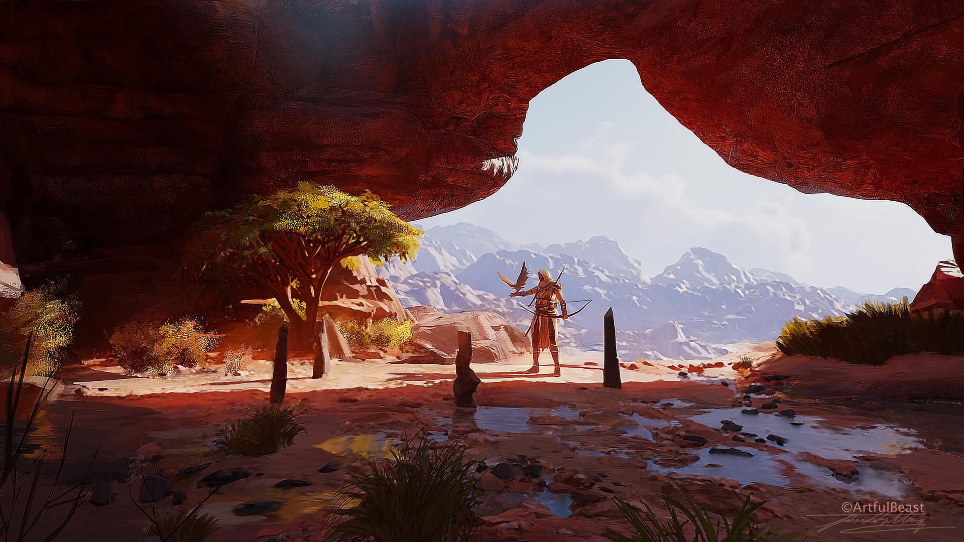 Assassins creed origins fanart hd games 4k wallpapers for Assassin s creed sfondi