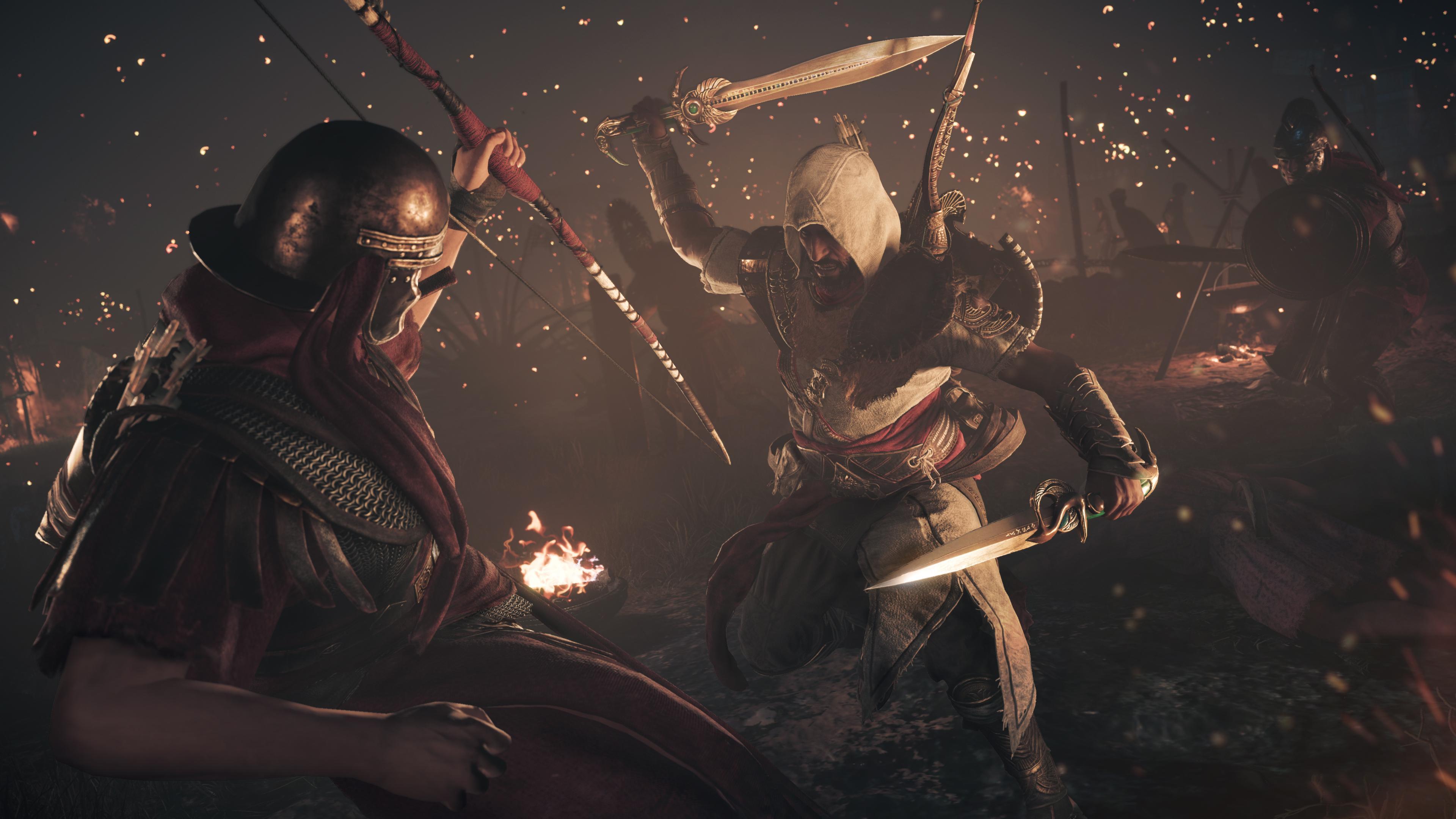 2018 Assassins Creed Origins 4k Hd Games 4k Wallpapers: Assassins Creed Origins The Hidden Ones DLC 4k, HD Games