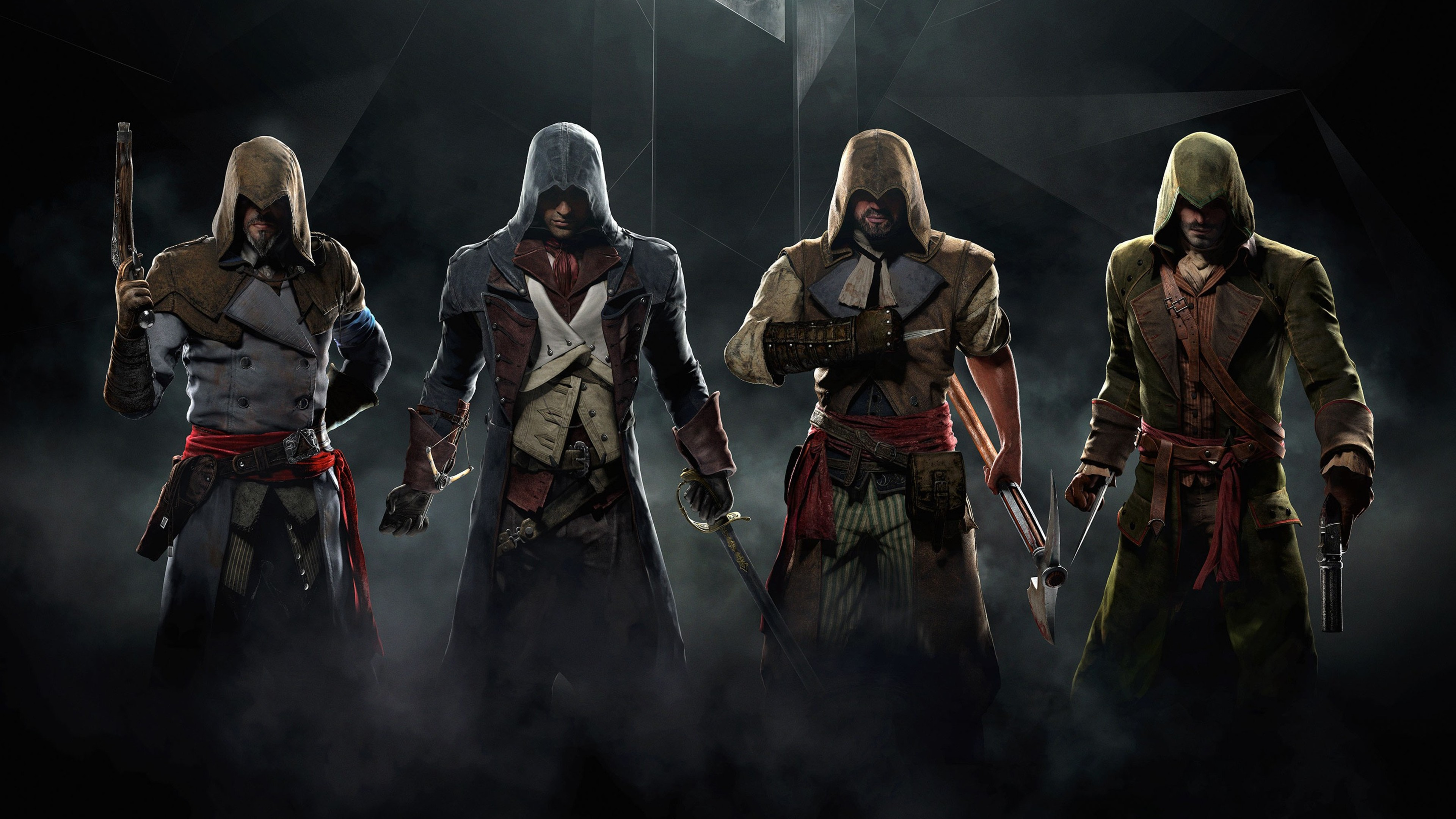 assassins creed unity game desktop, hd games, 4k wallpapers, images