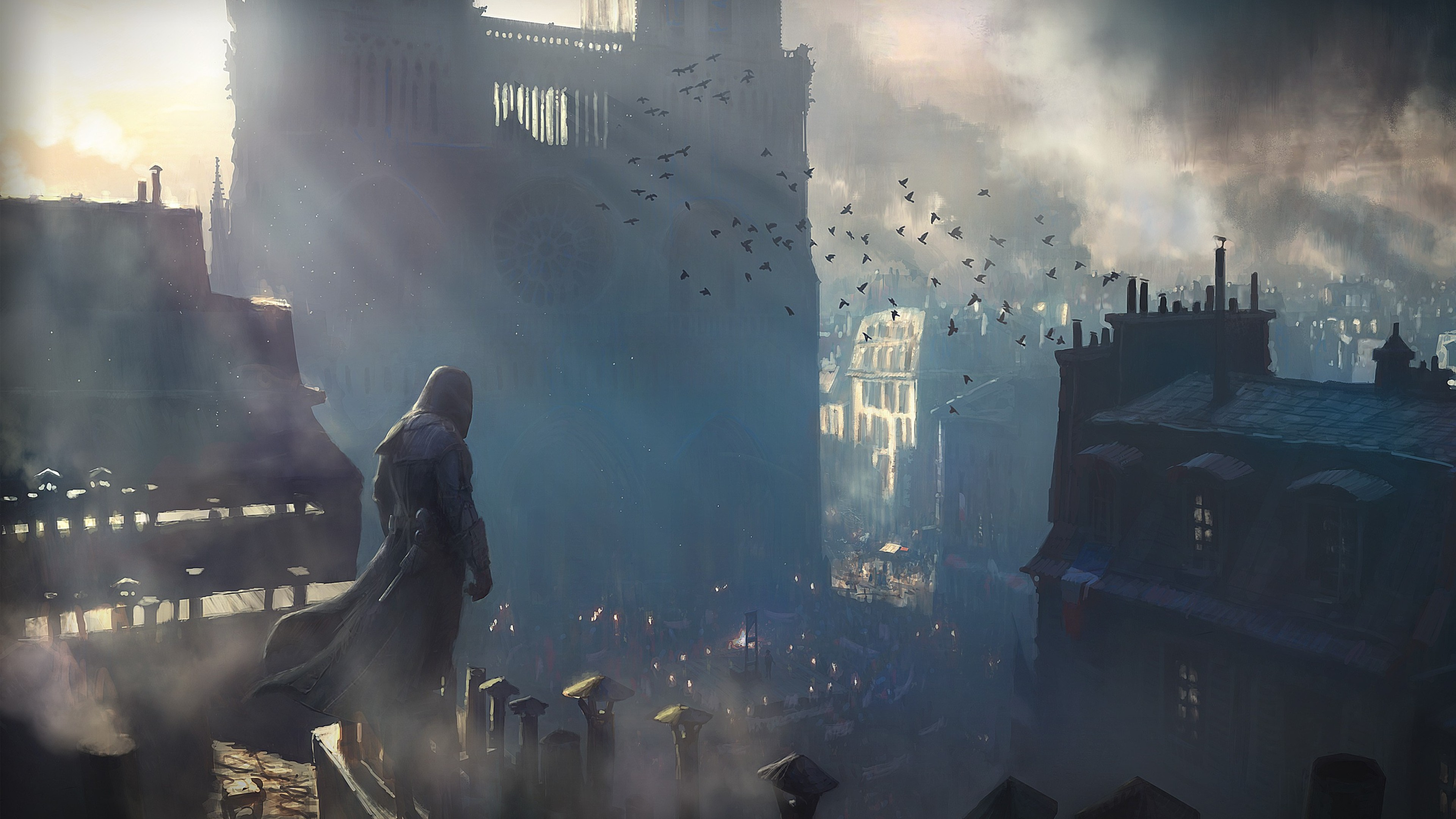 2048x1152 assassins creed unity game 2048x1152 resolution