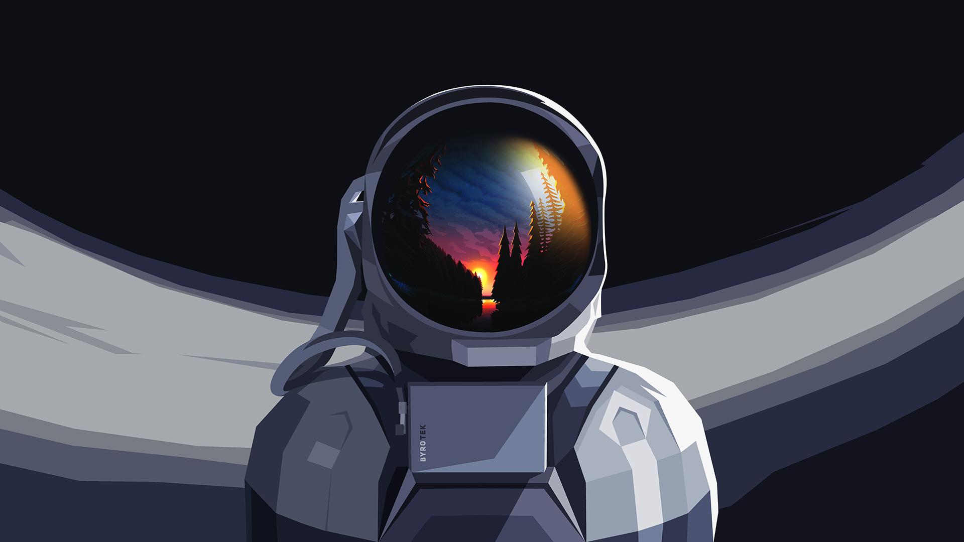Desktop Astronaut Wallpaper 4k