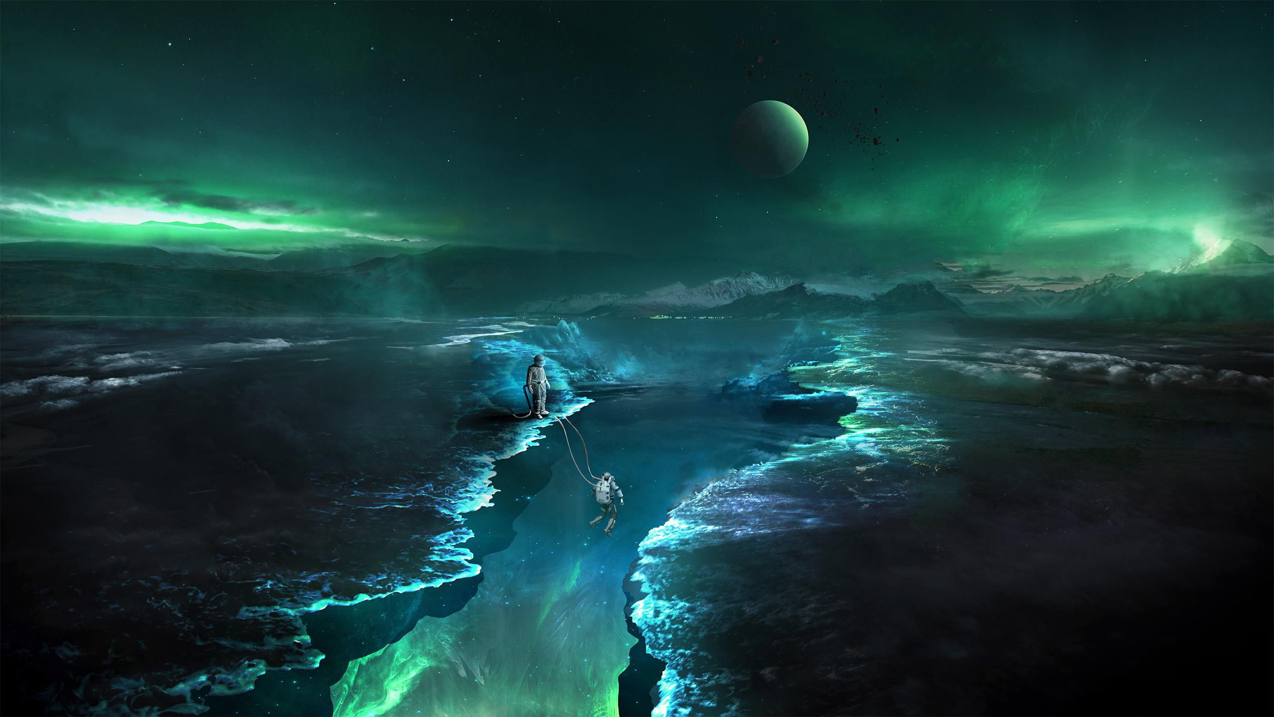 Astronaut space digital art fantasy hd artist 4k - Fantasy wallpaper digital art ...
