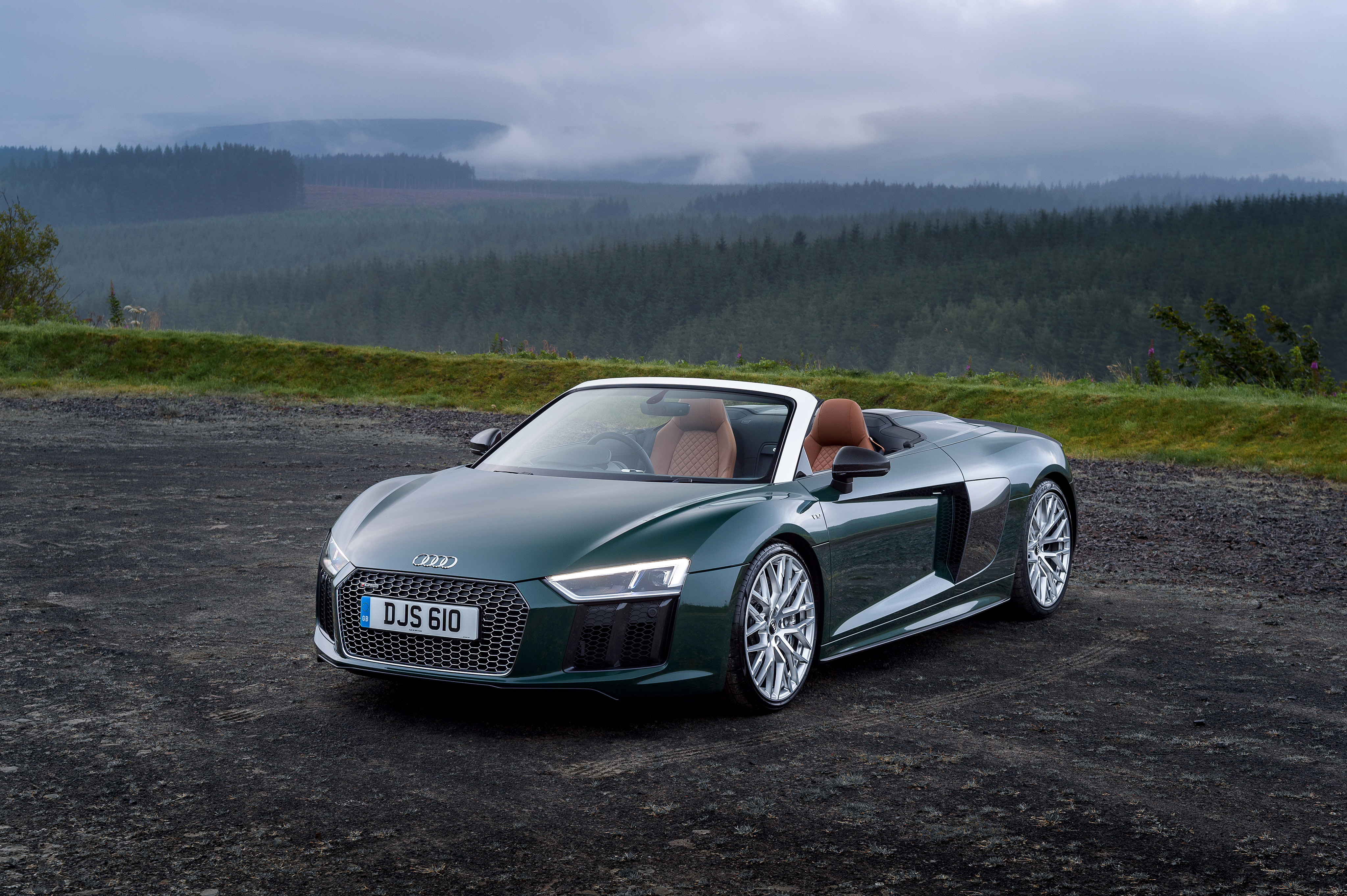 Audi R8 Spyder V10 Plus 2017, HD Cars, 4k Wallpapers ...