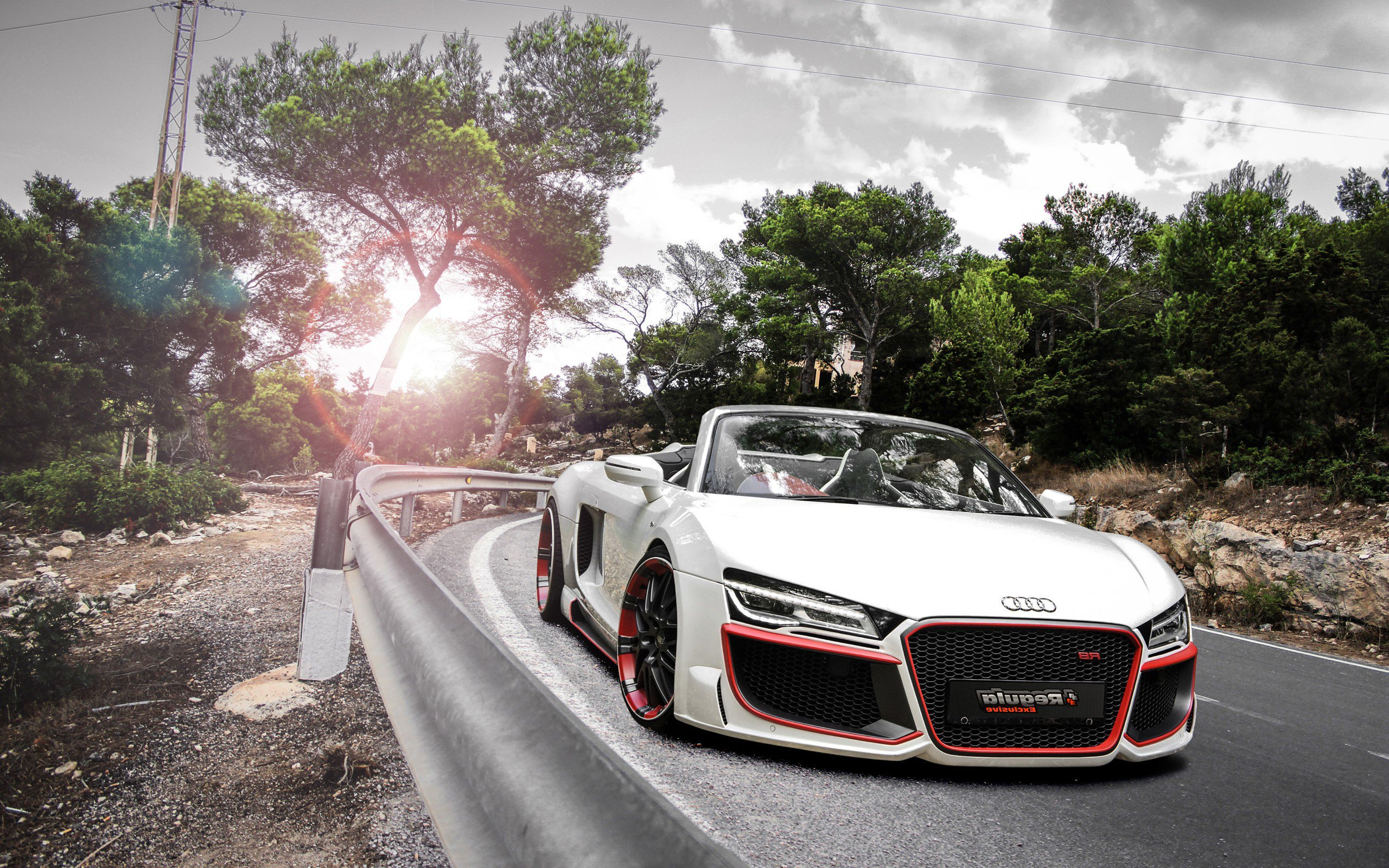 Audi R8 V10 Spyder Regula Laptop HD