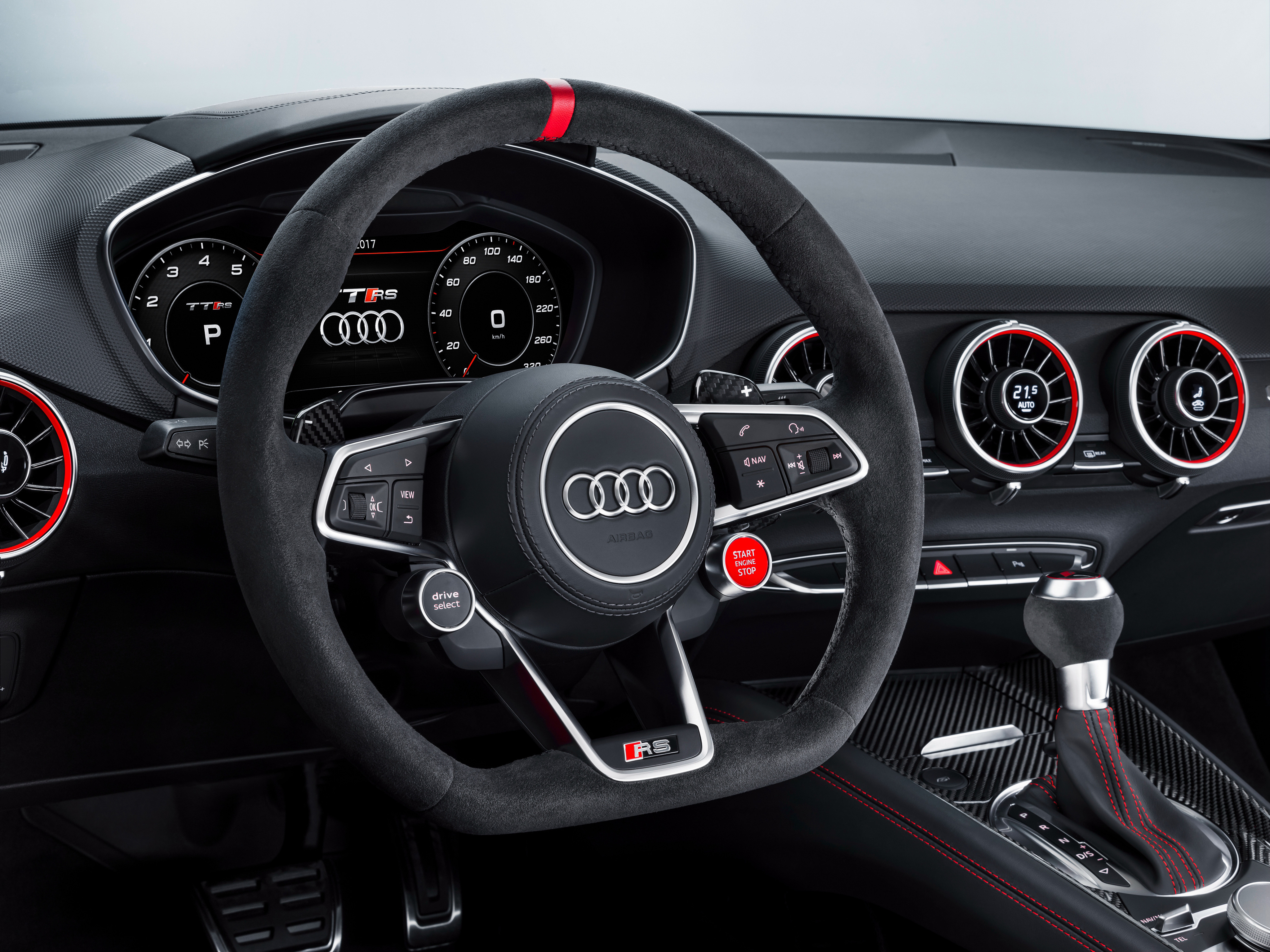 Audi TT RS 2017 Interior, HD Cars, 4k Wallpapers, Images