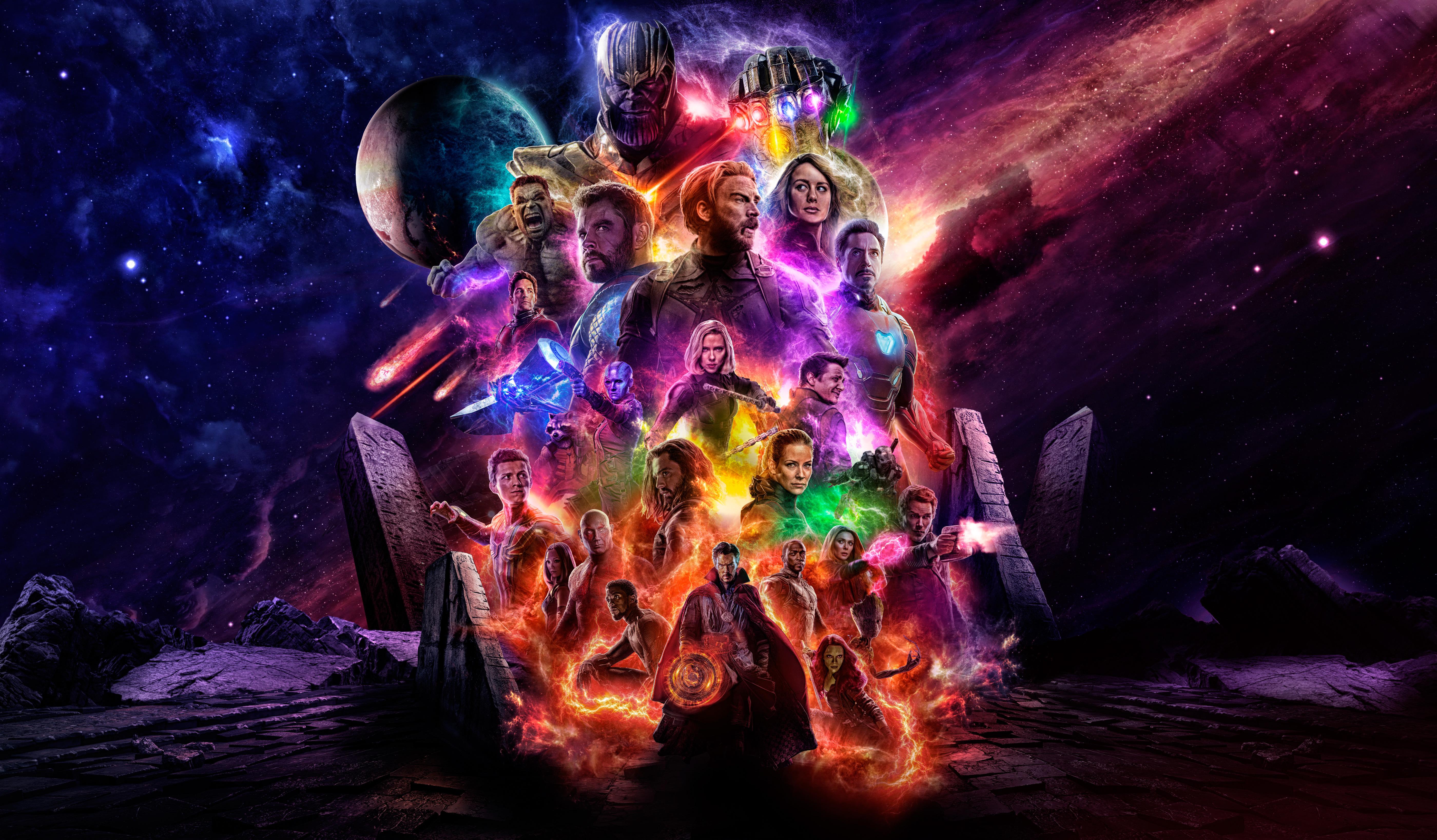 Avengers 4 Offical Poster Artwork 2019 5k Hd Movies 4k Wallpapers