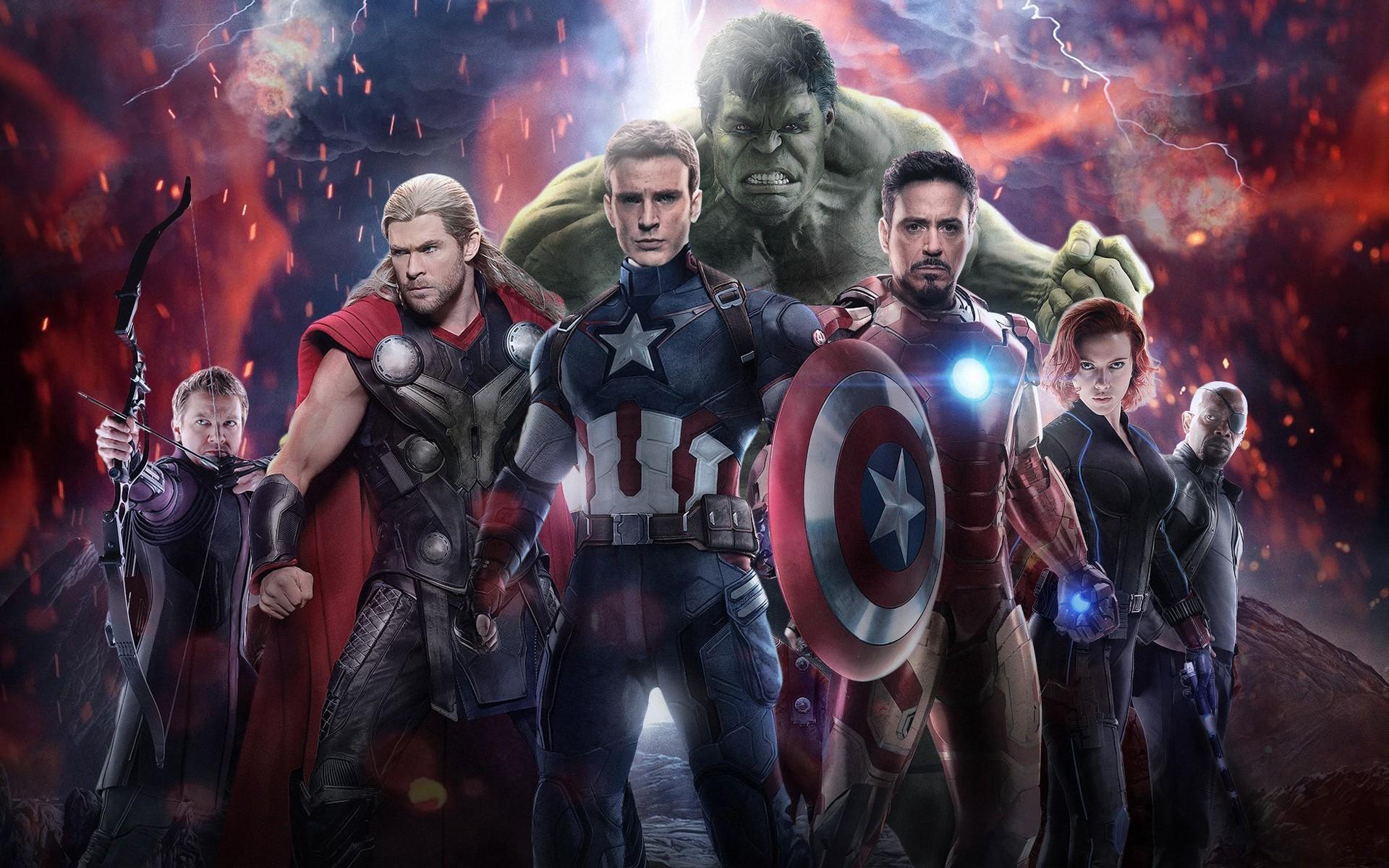 Avengers Age Of Ultron Laptop Full HD 1080P