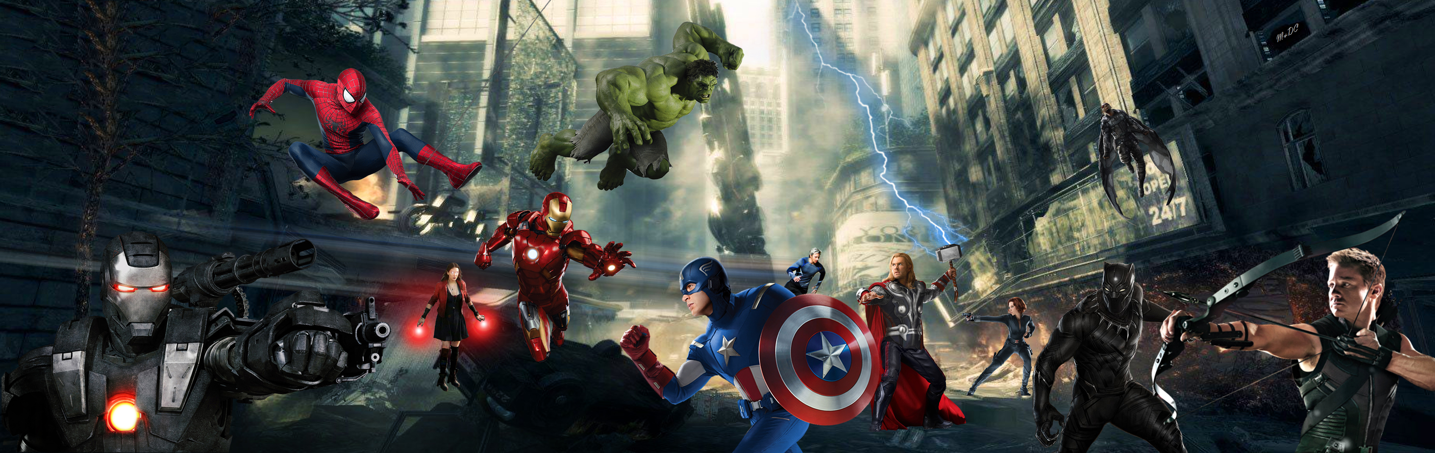Avengers Assemble Artwork 4k Hd Superheroes 4k Wallpapers Images