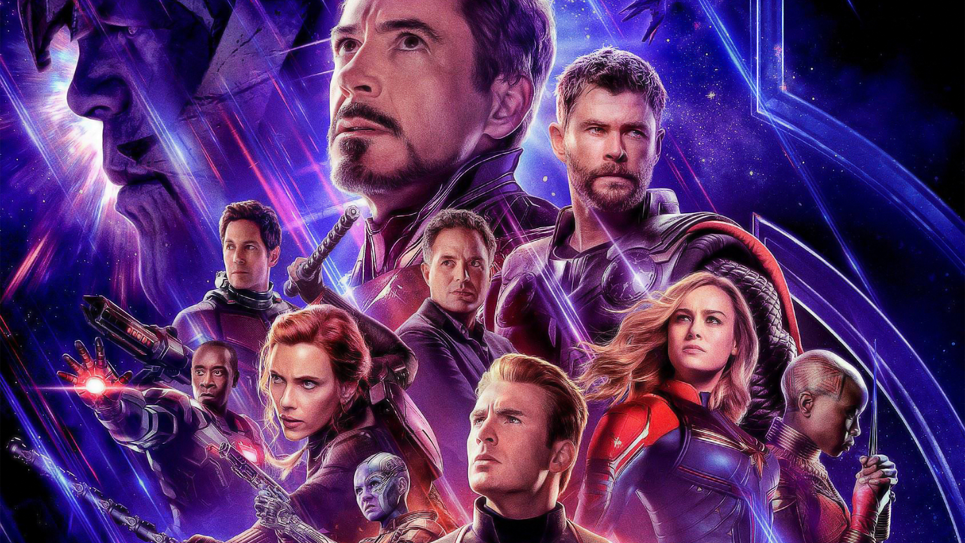 Movie Poster 2019: Avengers Endgame 2019 Official Poster, HD Movies, 4k