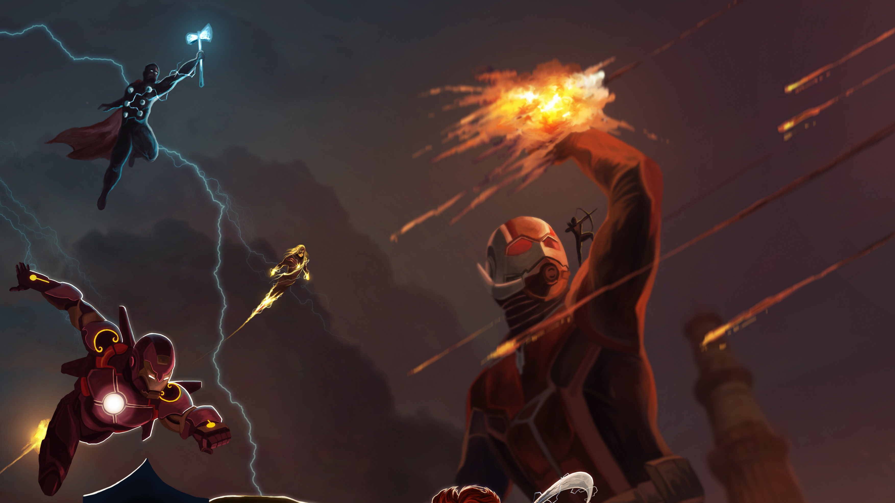Avengers Endgame Assemble 4k Hd Superheroes 4k Wallpapers Images