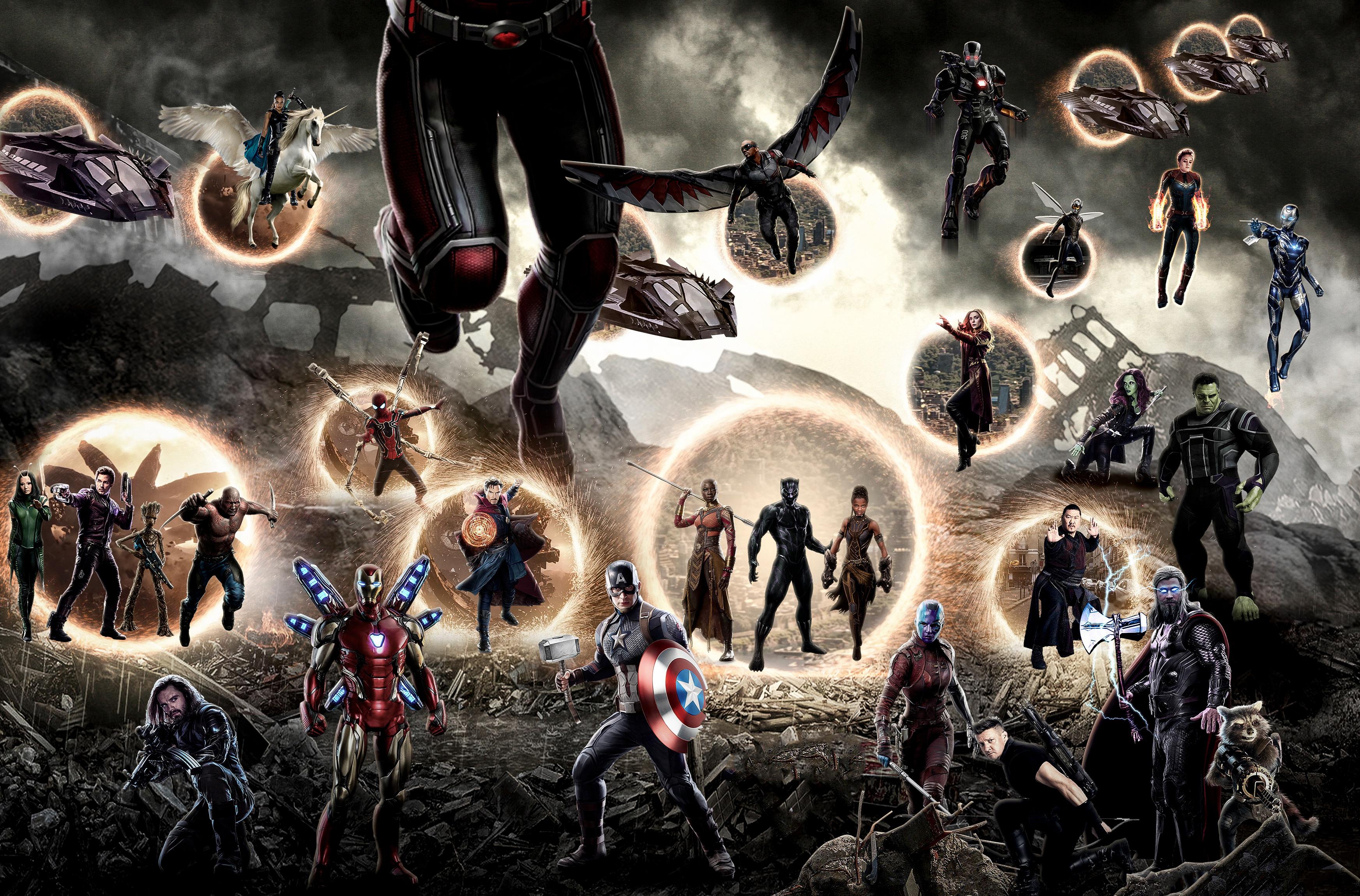 Avengers Endgame Final Battle 4k, HD Superheroes, 4k ...