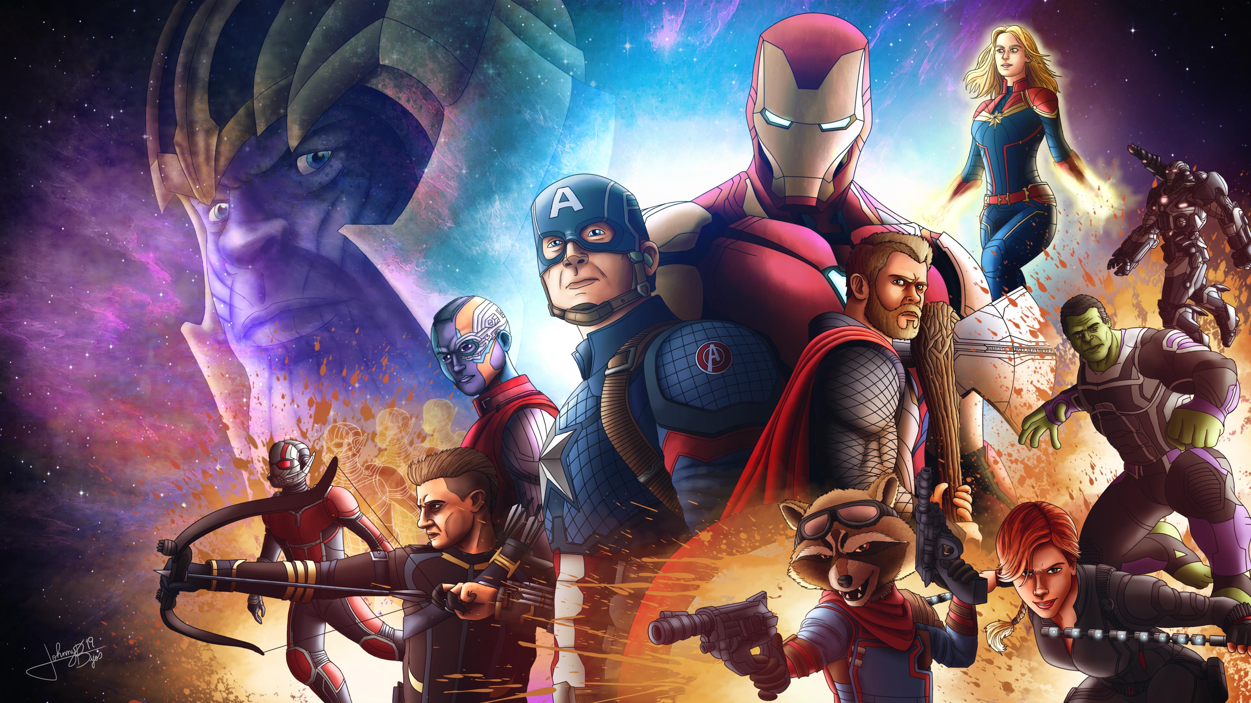 1920x1080 Avengers Endgame4k Art Laptop Full HD 1080P HD ...
