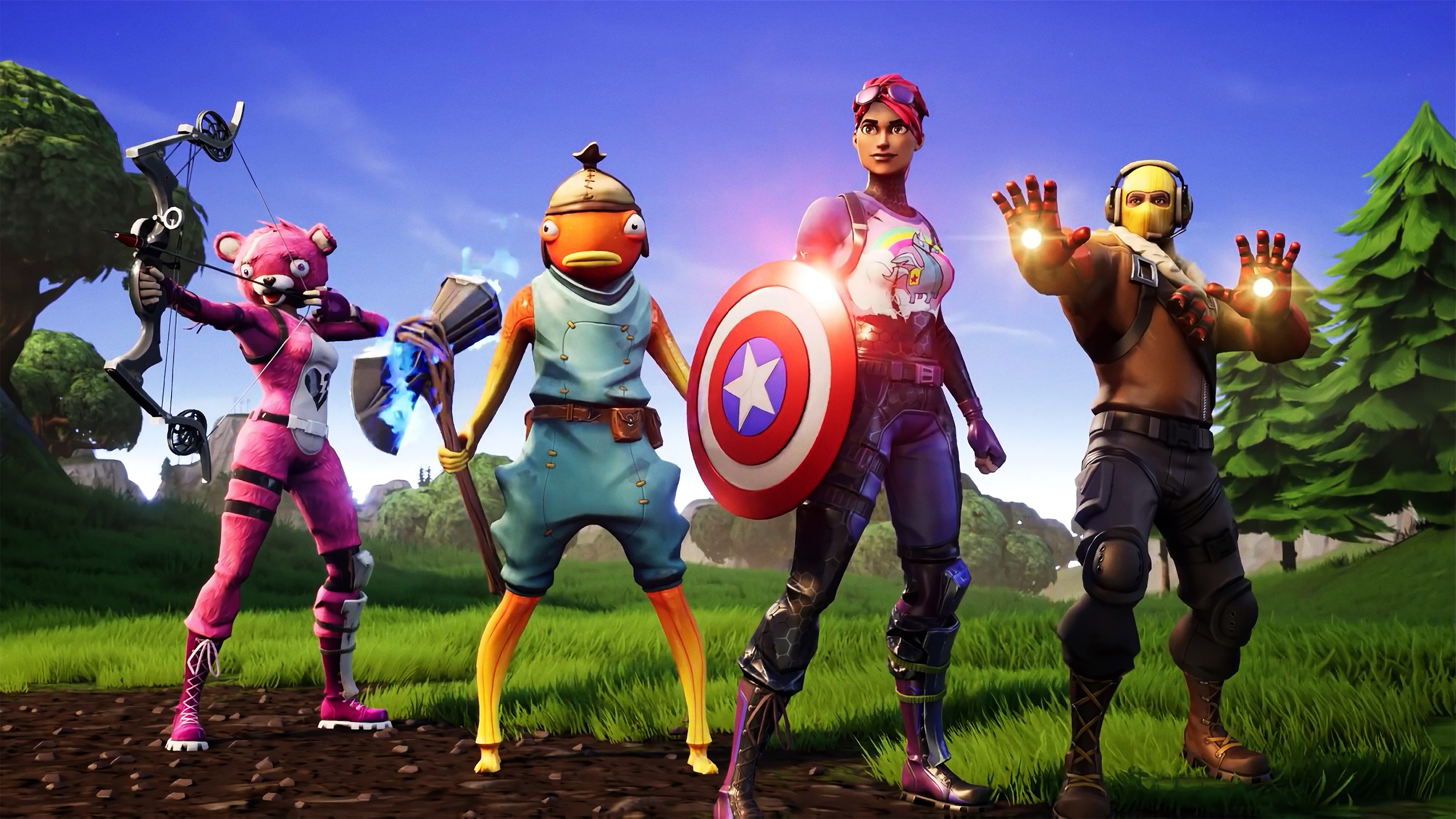 Avengers Fortnite X Hd Games 4k Wallpapers Images