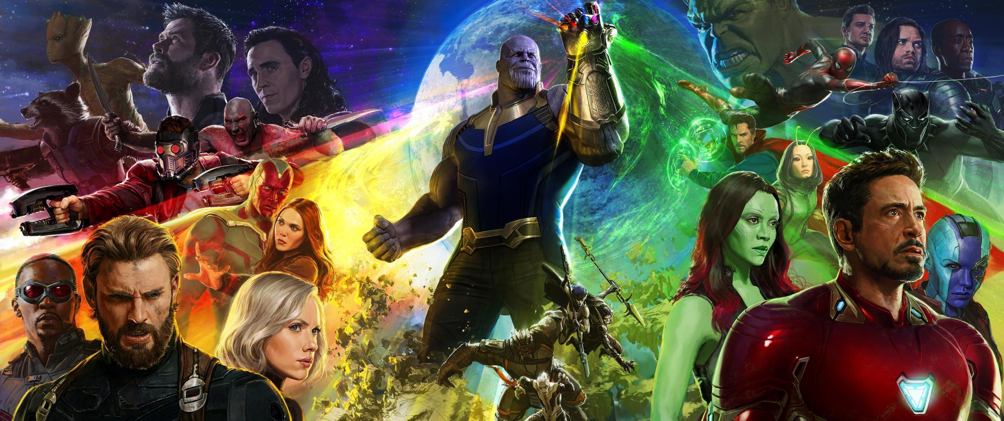 1366x768 Avengers Infinity War 2018 4k 1366x768 Resolution Hd 4k