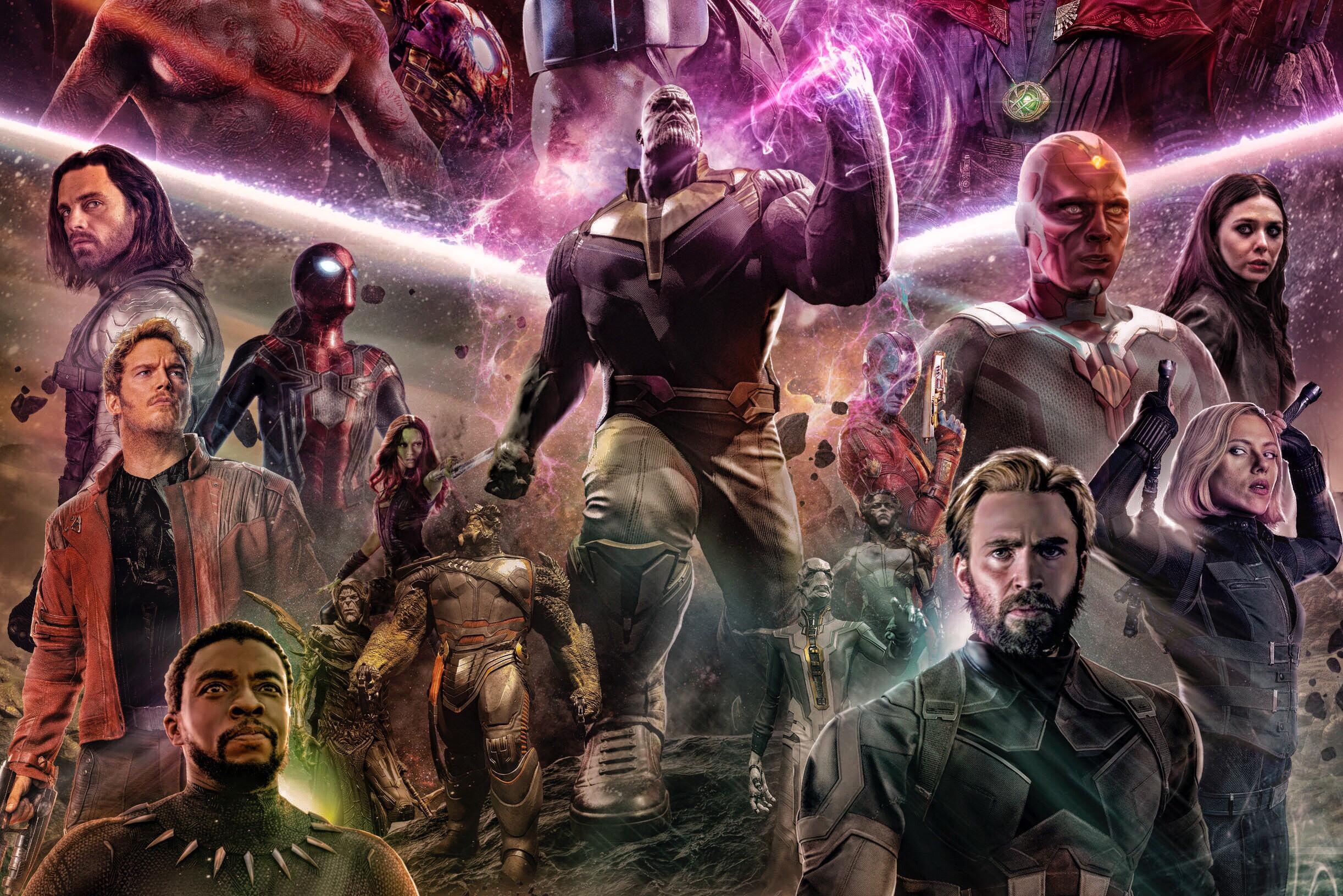 1080x1920 Avengers Infinity War 2018 Artwork Fan Made