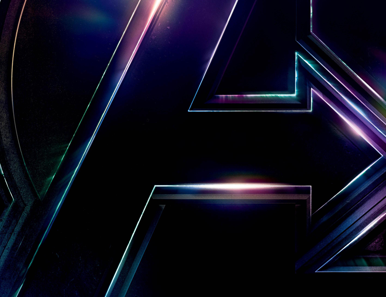 Avengers infinity war 2018 logo poster hd movies 4k - Avengers a logo 4k ...