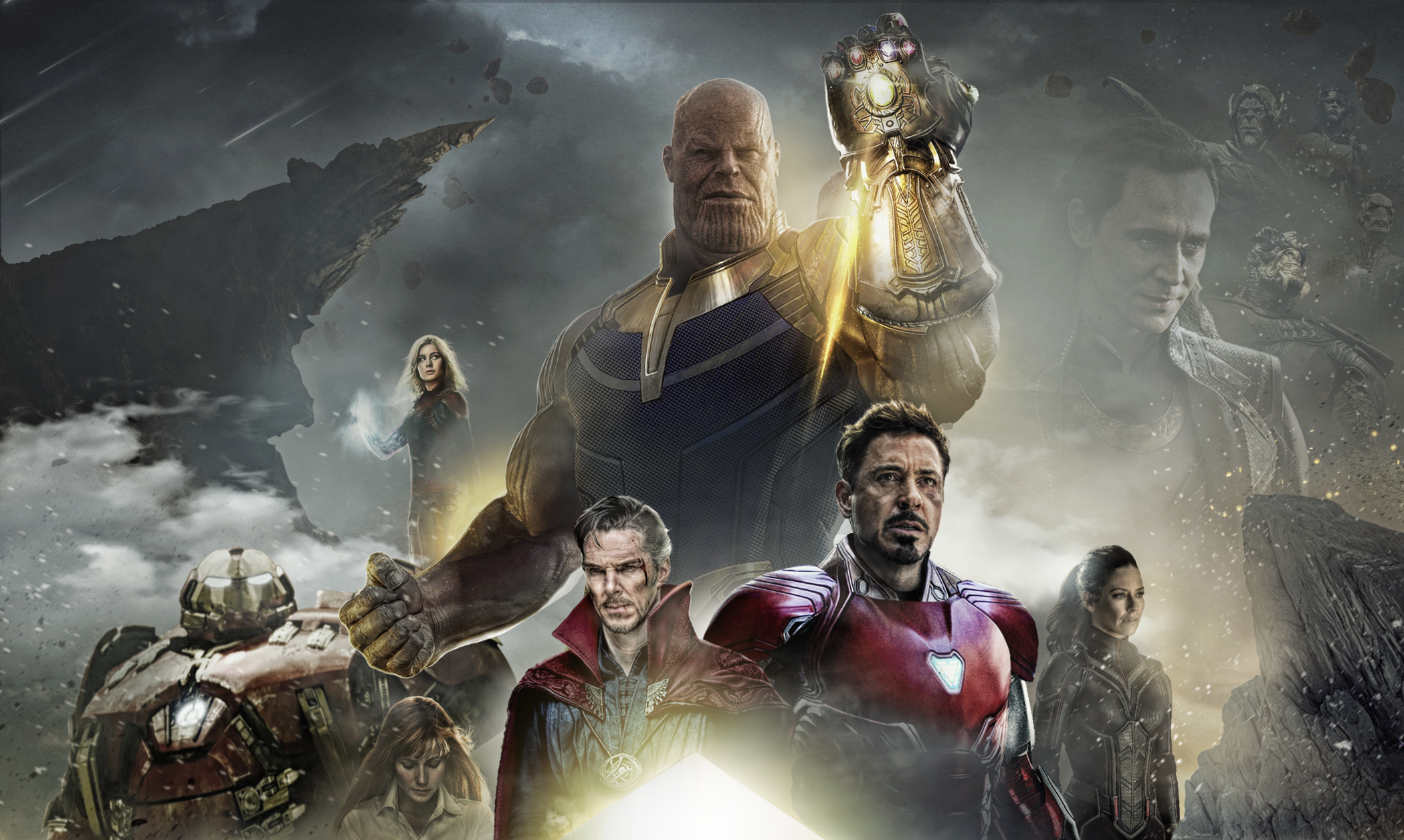 avengers infinity war 2018 poster fan made, hd movies, 4k wallpapers