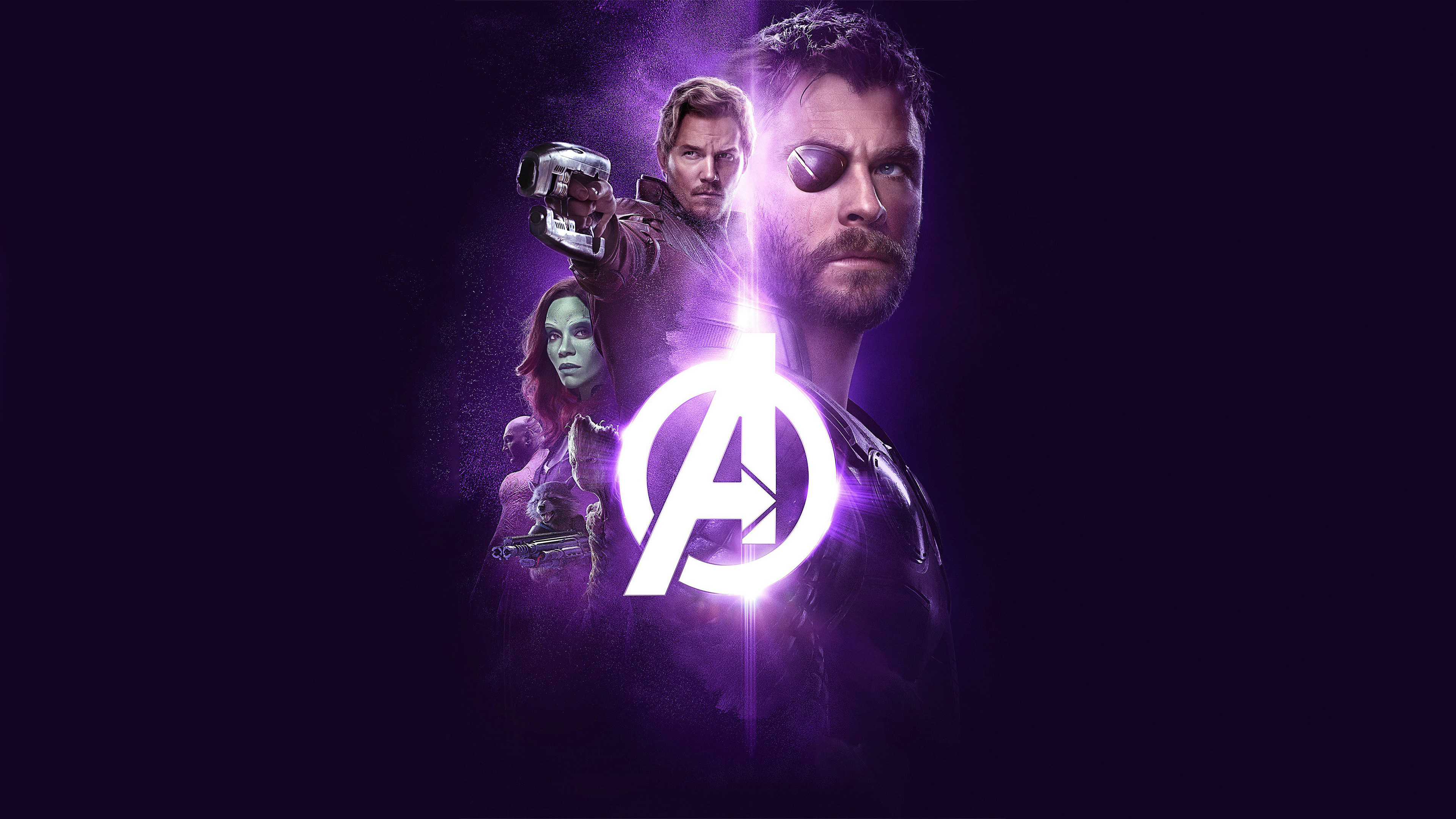 Avengers Infinity War 2018 Power Stone Poster 4k Hd Movies 4k
