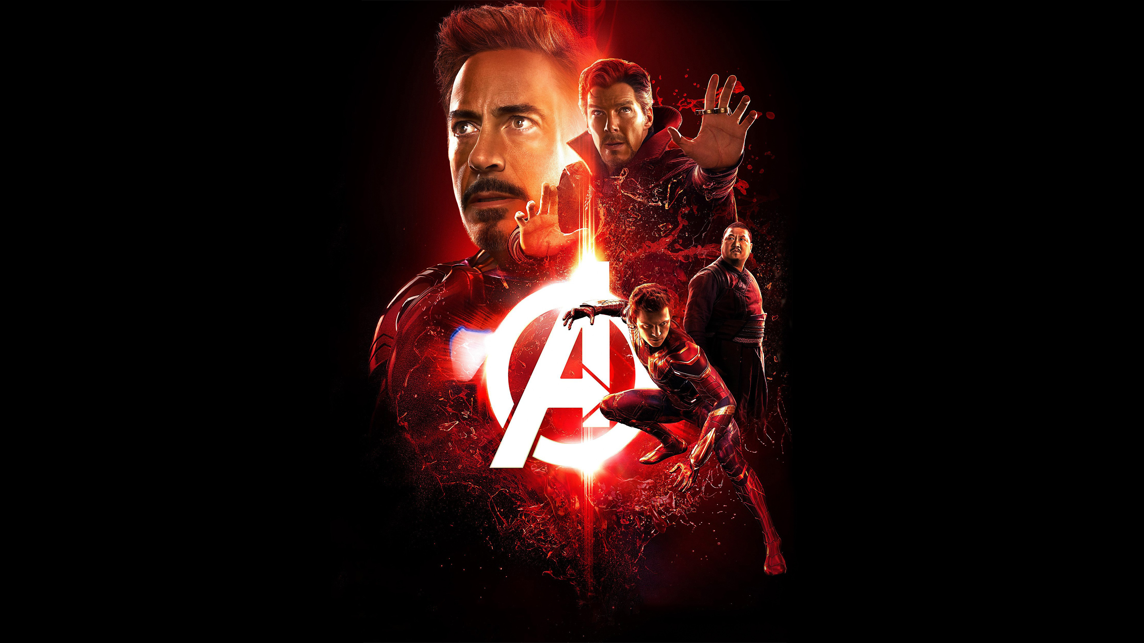 avengers infinity war 2018 reality stone poster 4k, hd movies, 4k