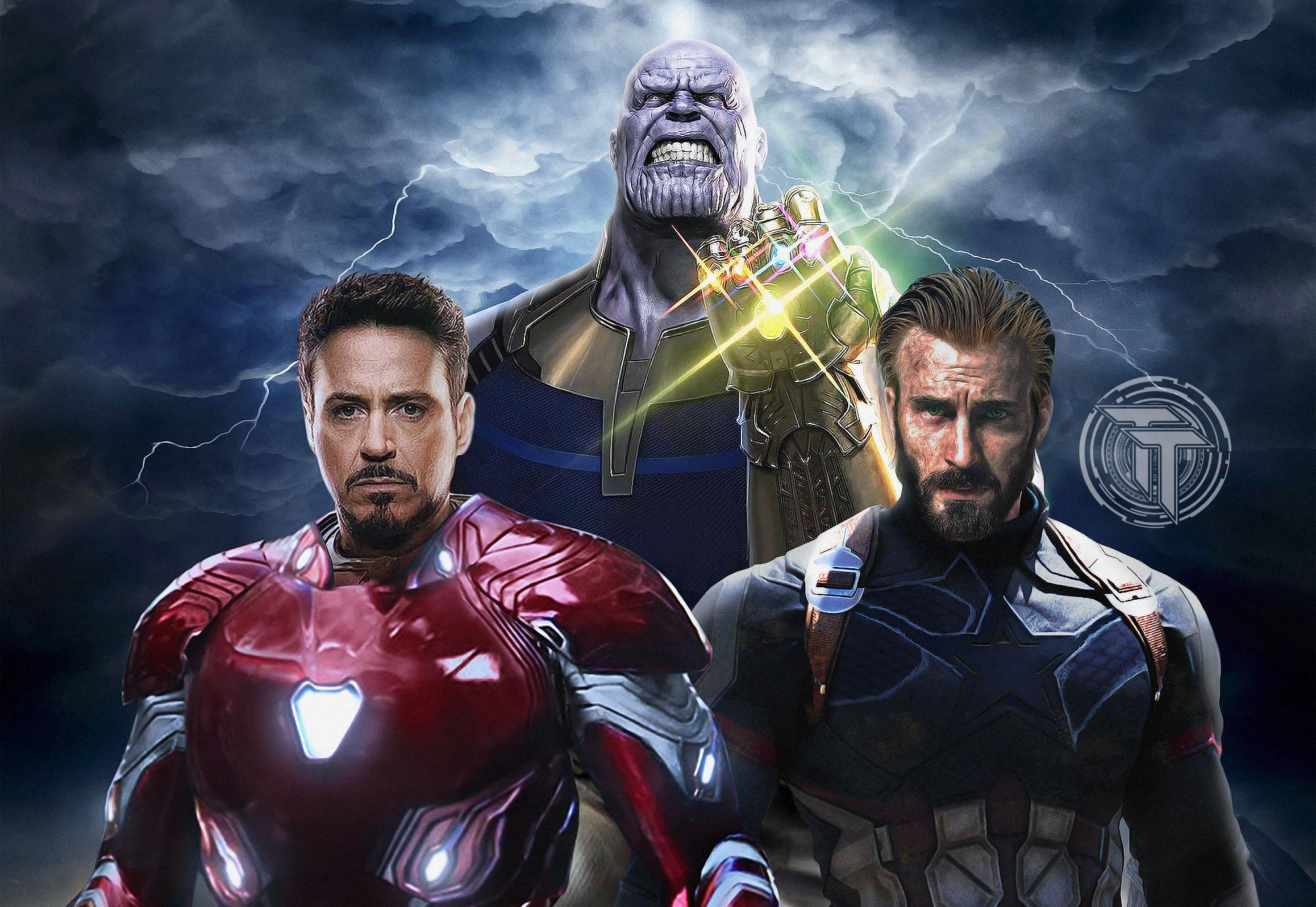avengers infinity war captain america iron man thanos, hd movies, 4k
