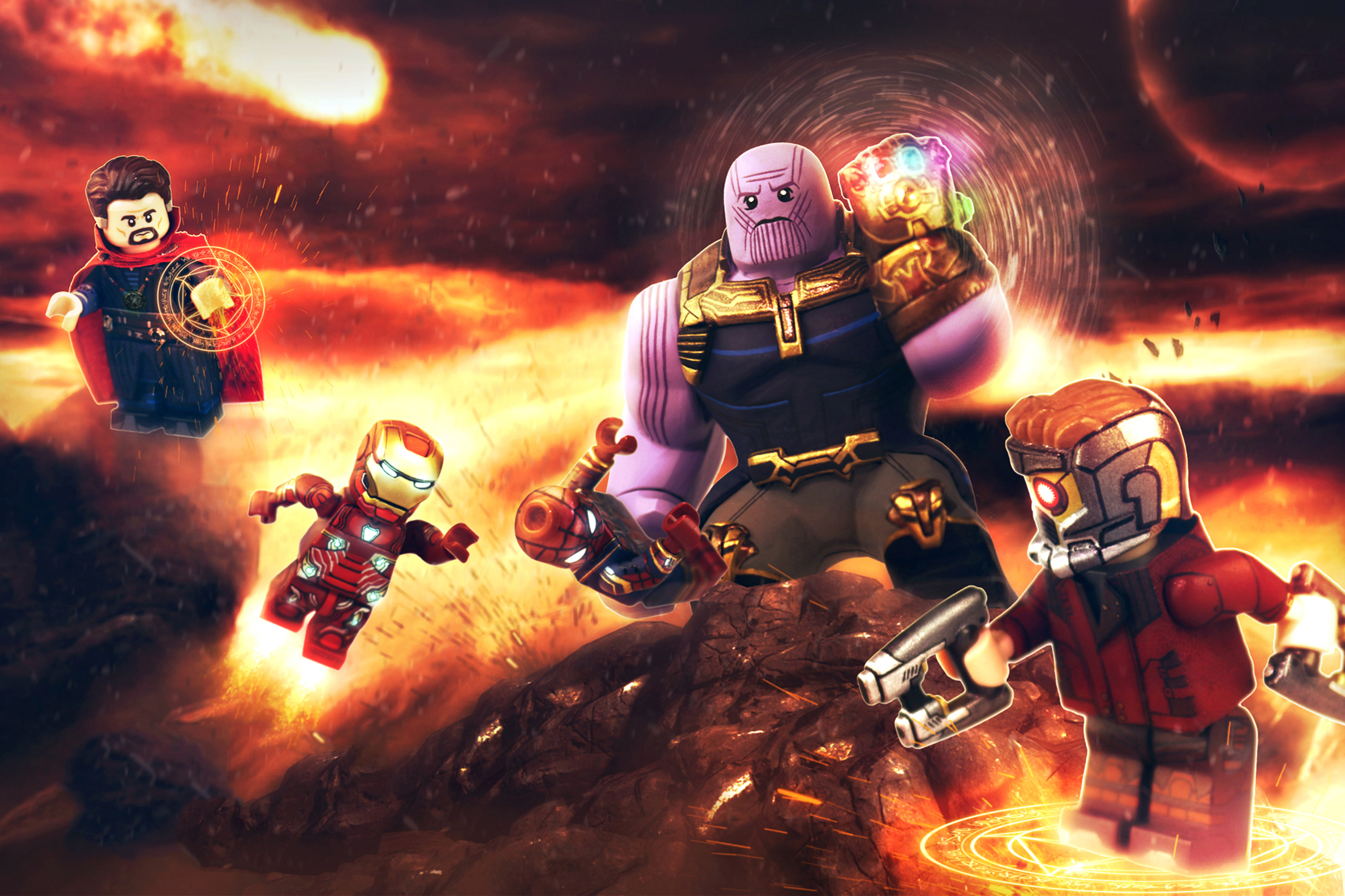 Avengers Infinity War Lego Hd Movies 4k Wallpapers Images