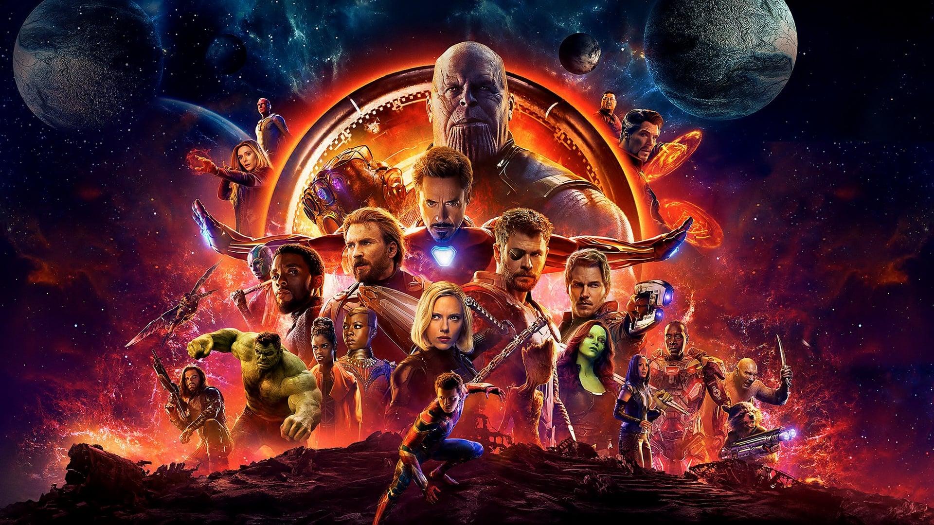Avengers Infinity War Official Poster  O Jpg