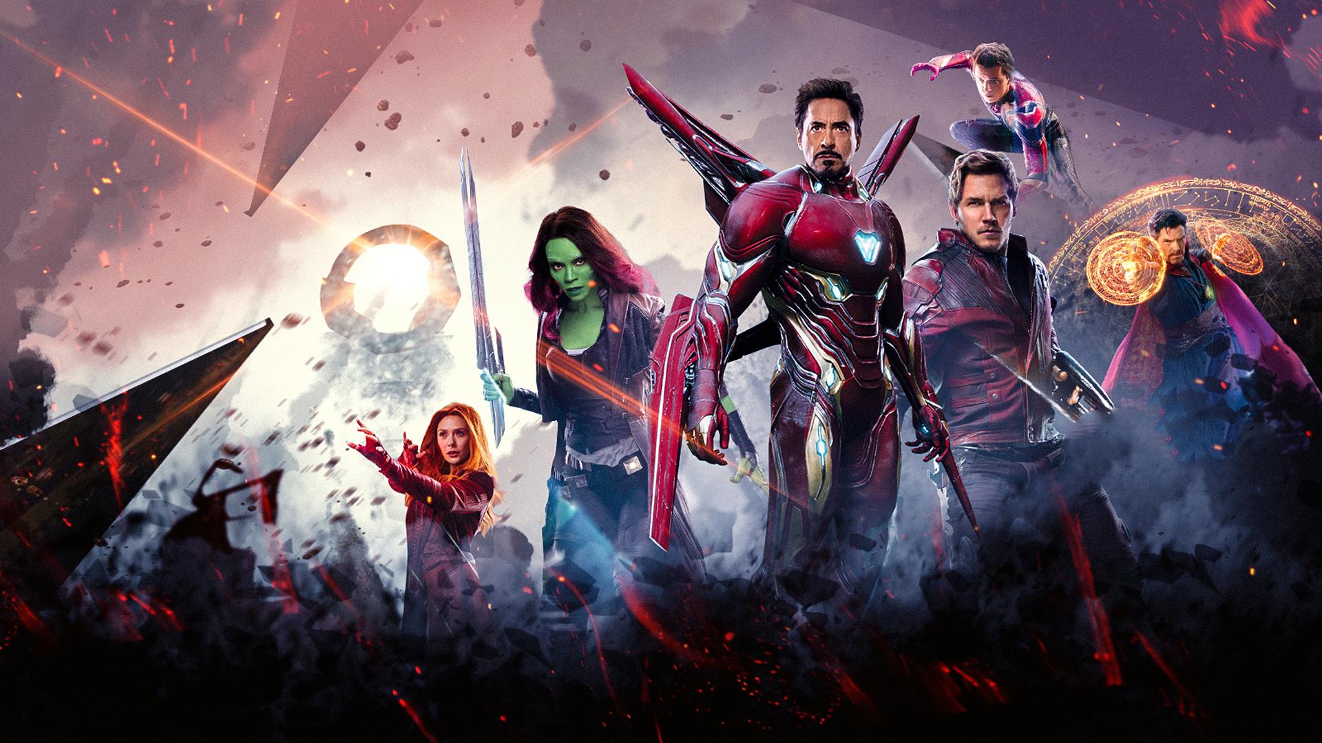 1920x1080 Avengers Infinity War Poster 2018 Laptop Full Hd 1080p Hd