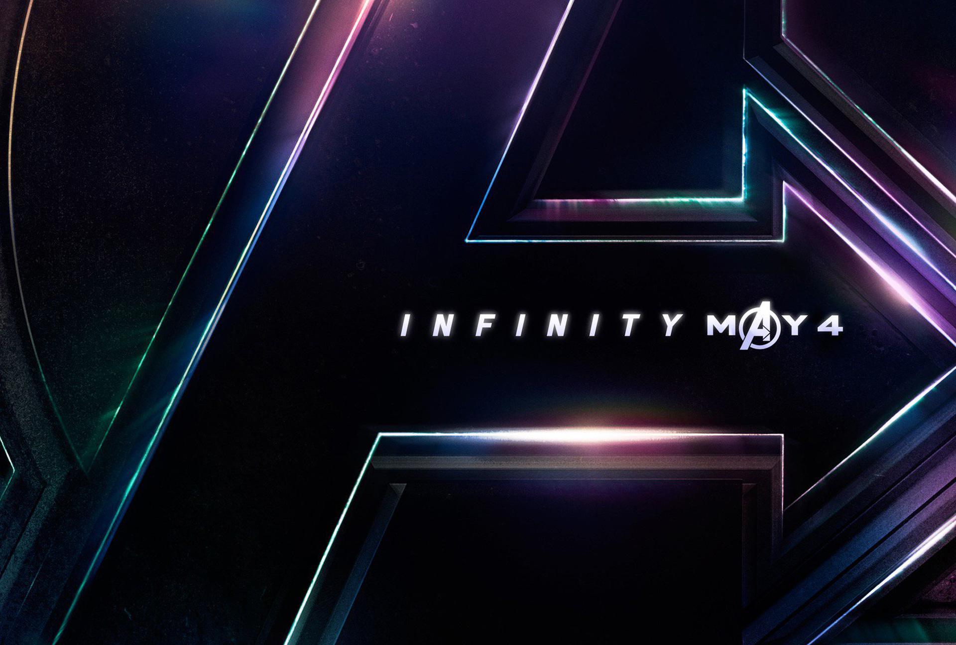Avengers infinity war poster hd movies 4k wallpapers - Avengers a logo 4k ...