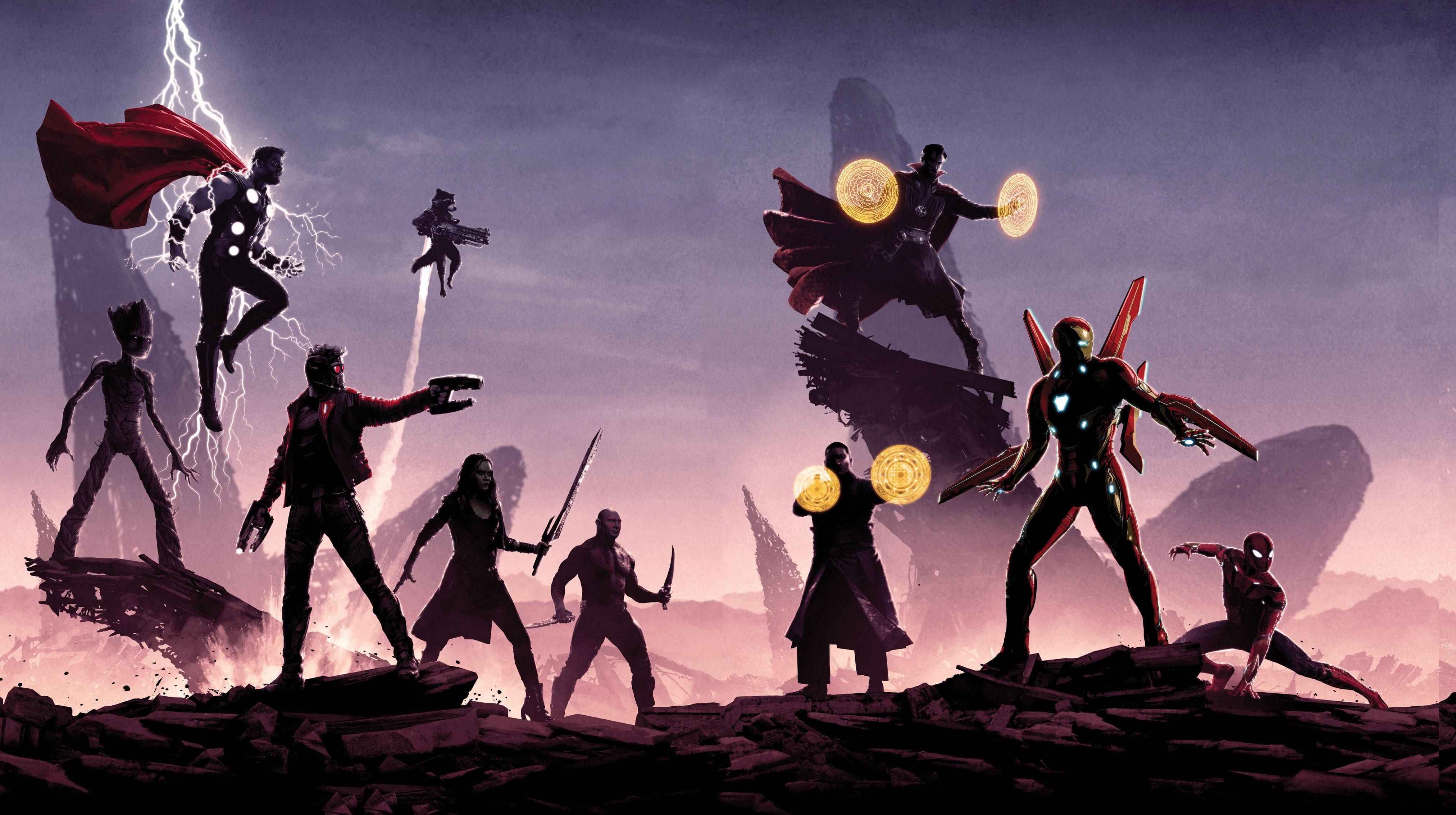 1920x1080 Avengers Infinity War Promotion Poster Laptop Full Hd