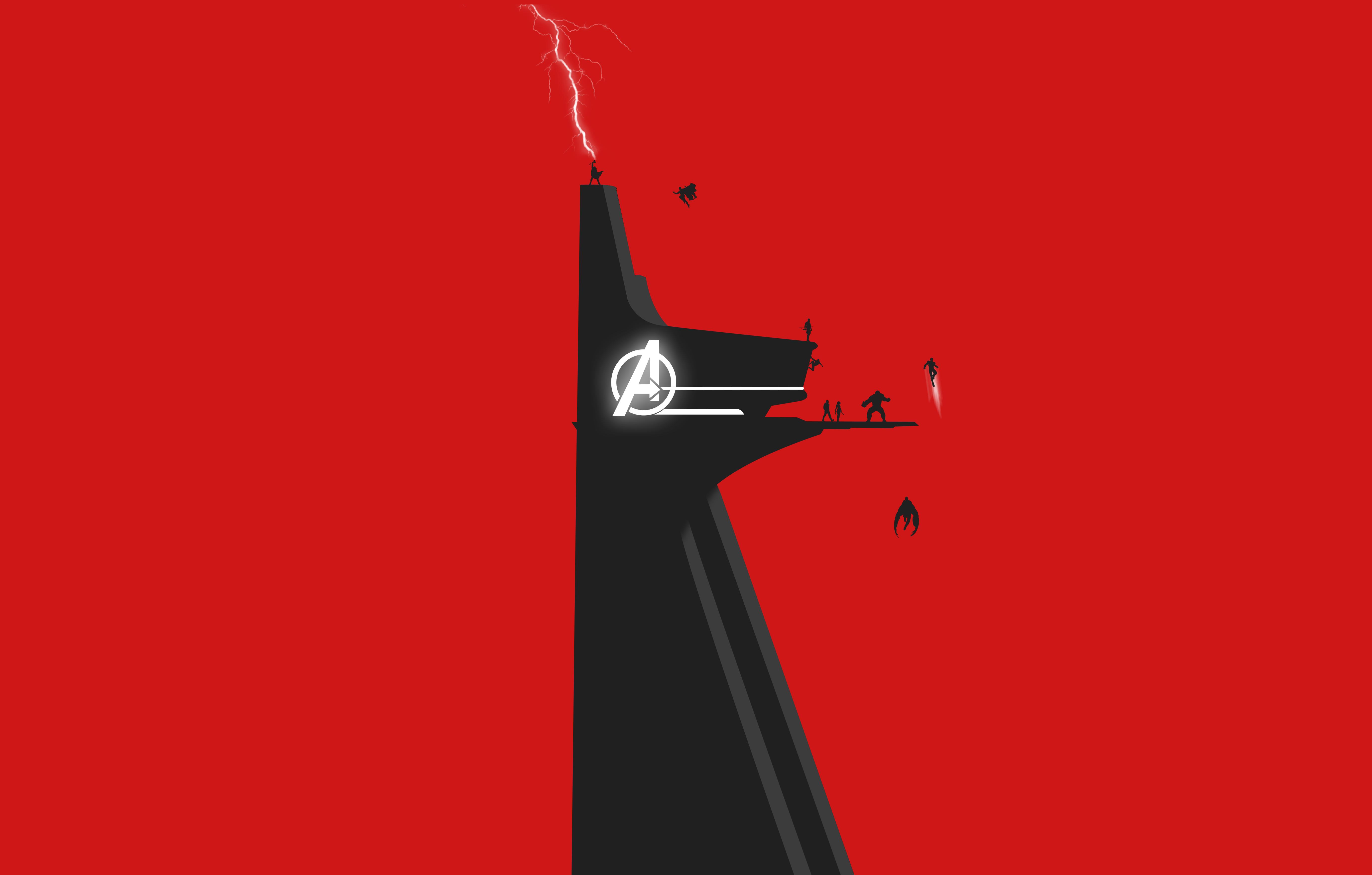 Avengers Stark Tower 5k Hd Superheroes 4k Wallpapers Images