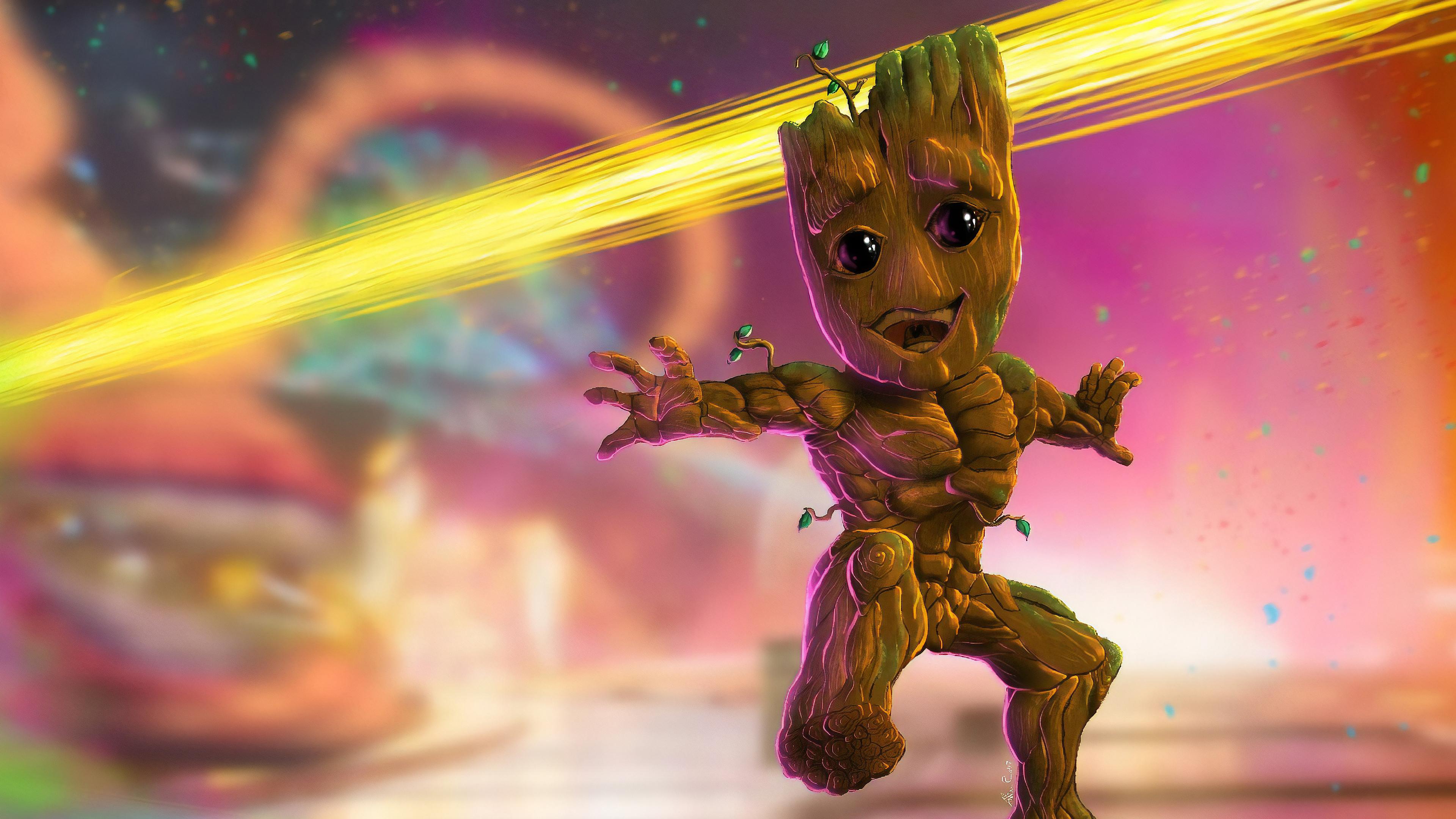 Baby Groot 4k 2019, HD Superheroes, 4k Wallpapers, Images ...