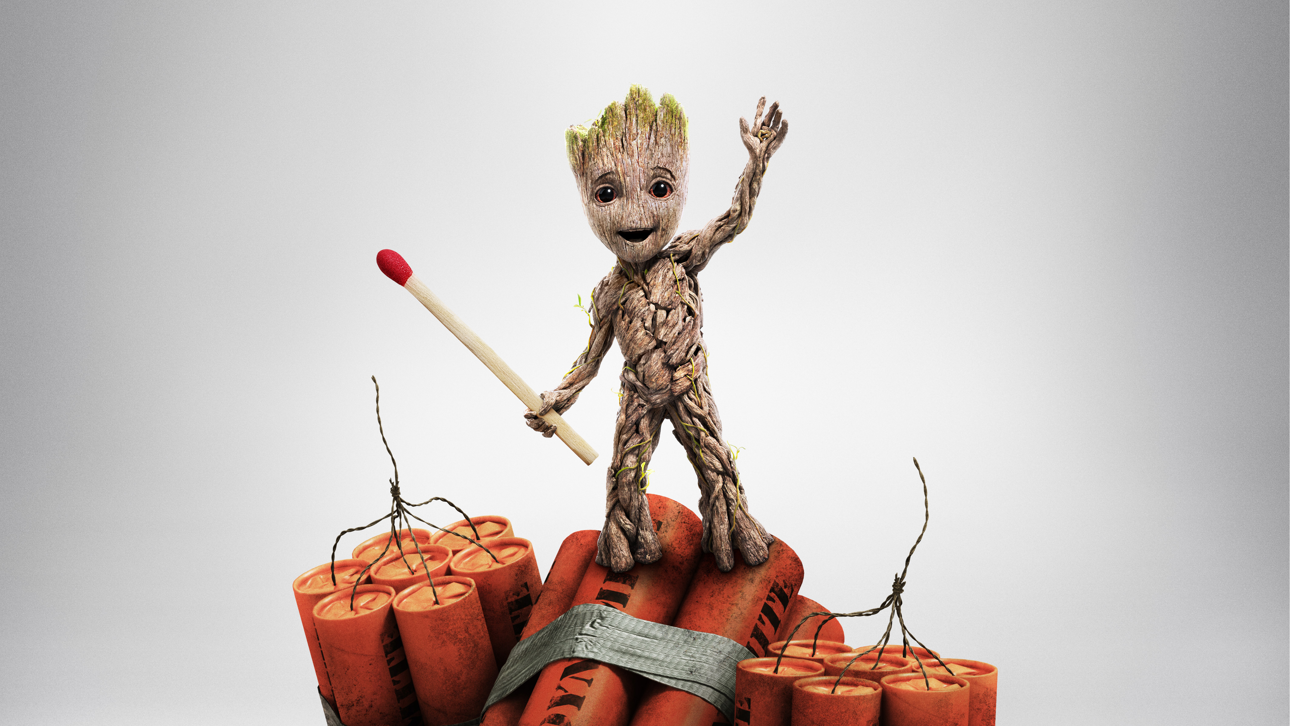 Baby Groot Guardians Of The Galaxy Vol 2 Hd Movies 4k: Baby Groot Guardians Of The Galaxy Vol 2 China Poster 4k