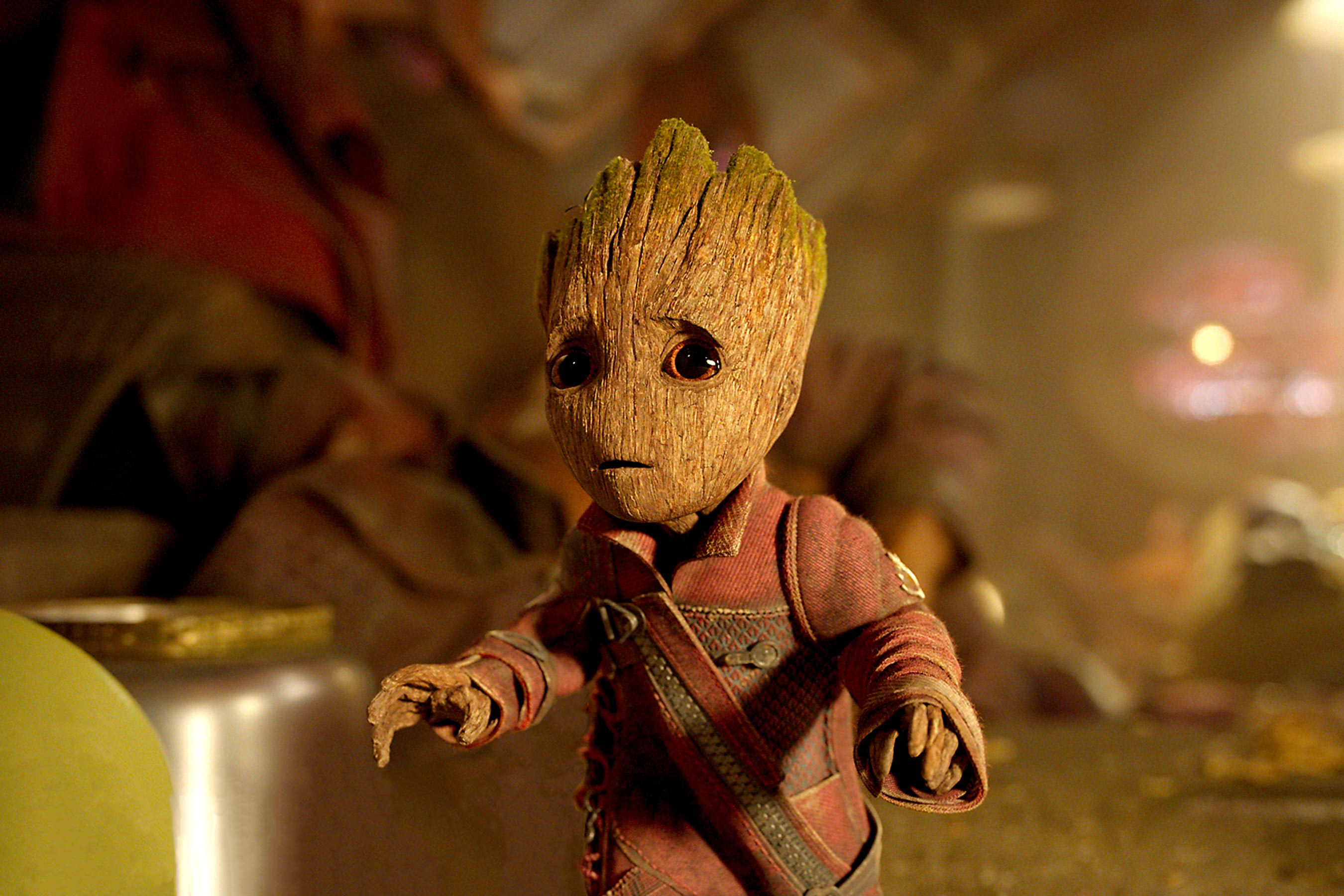 Baby Groot Guardians Of The Galaxy Vol 2, HD Movies, 4k