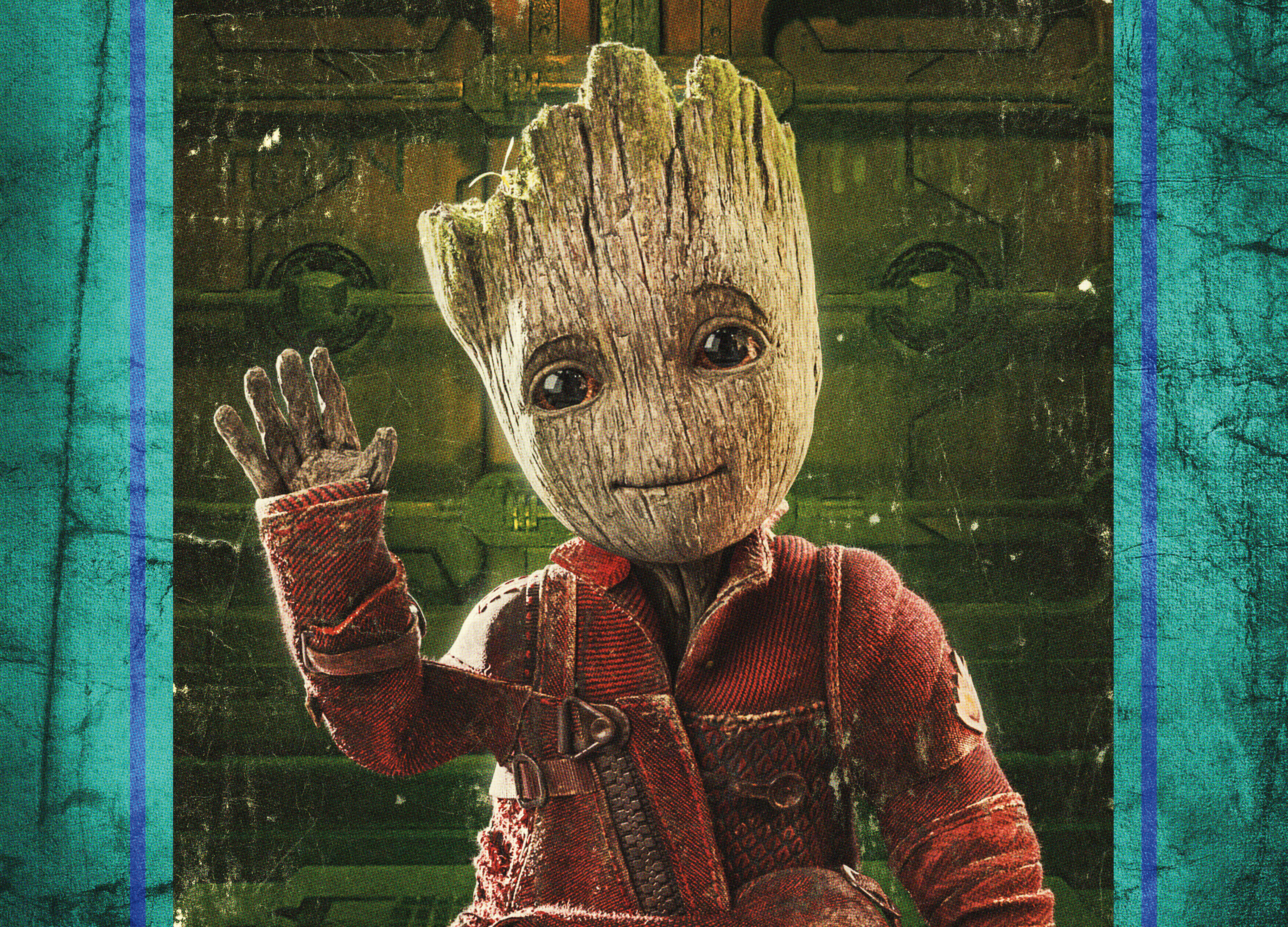 Baby Groot Guardians Of The Galaxy Vol 2 Hd Movies 4k: Baby Groot In Guardians Of The Galaxy Vol 2 4k, HD Movies