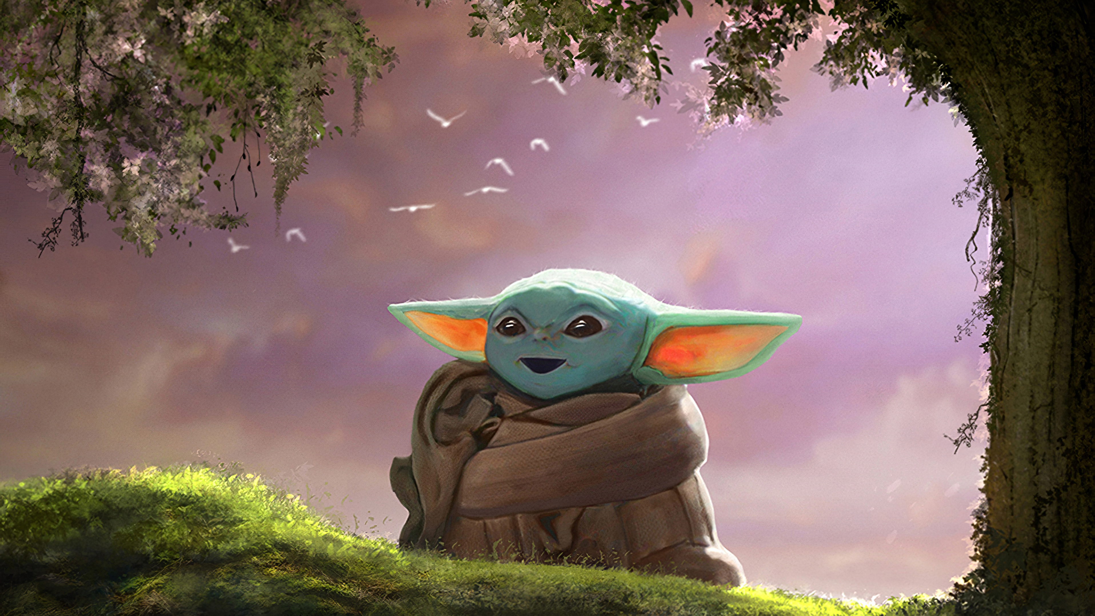 Mandalorian 4k Wallpaper Baby Yoda Hd Images