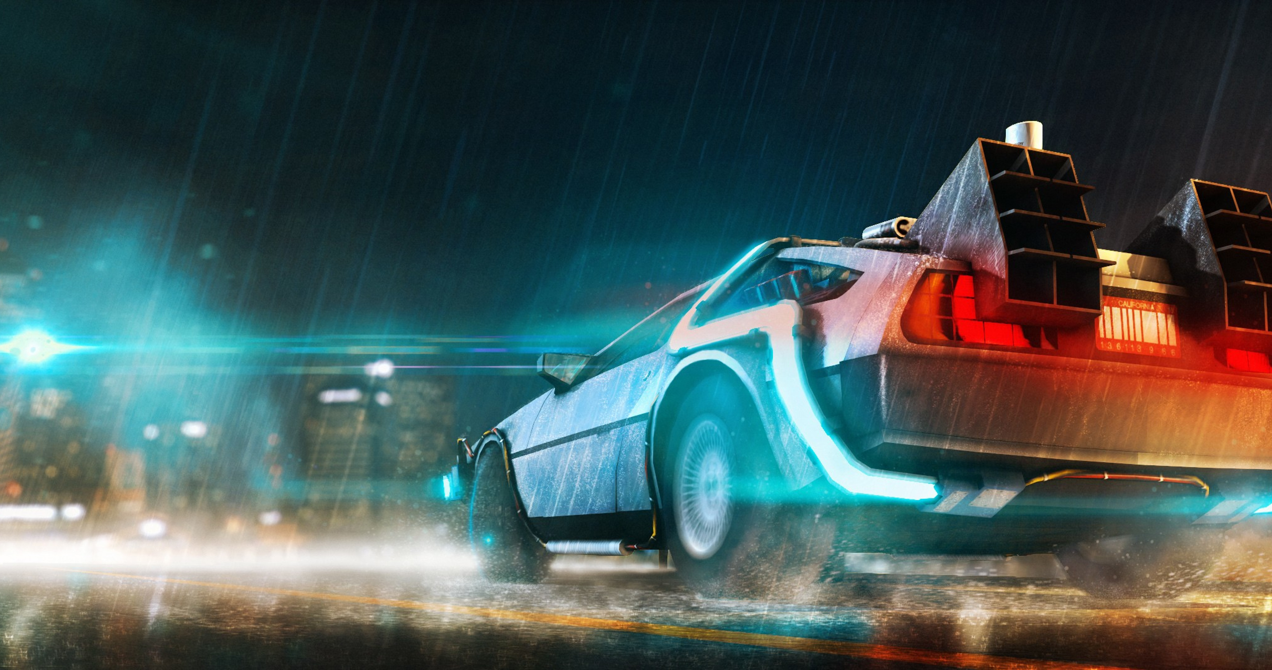 Back to the future car hd movies 4k wallpapers images - Future cars hd wallpapers ...