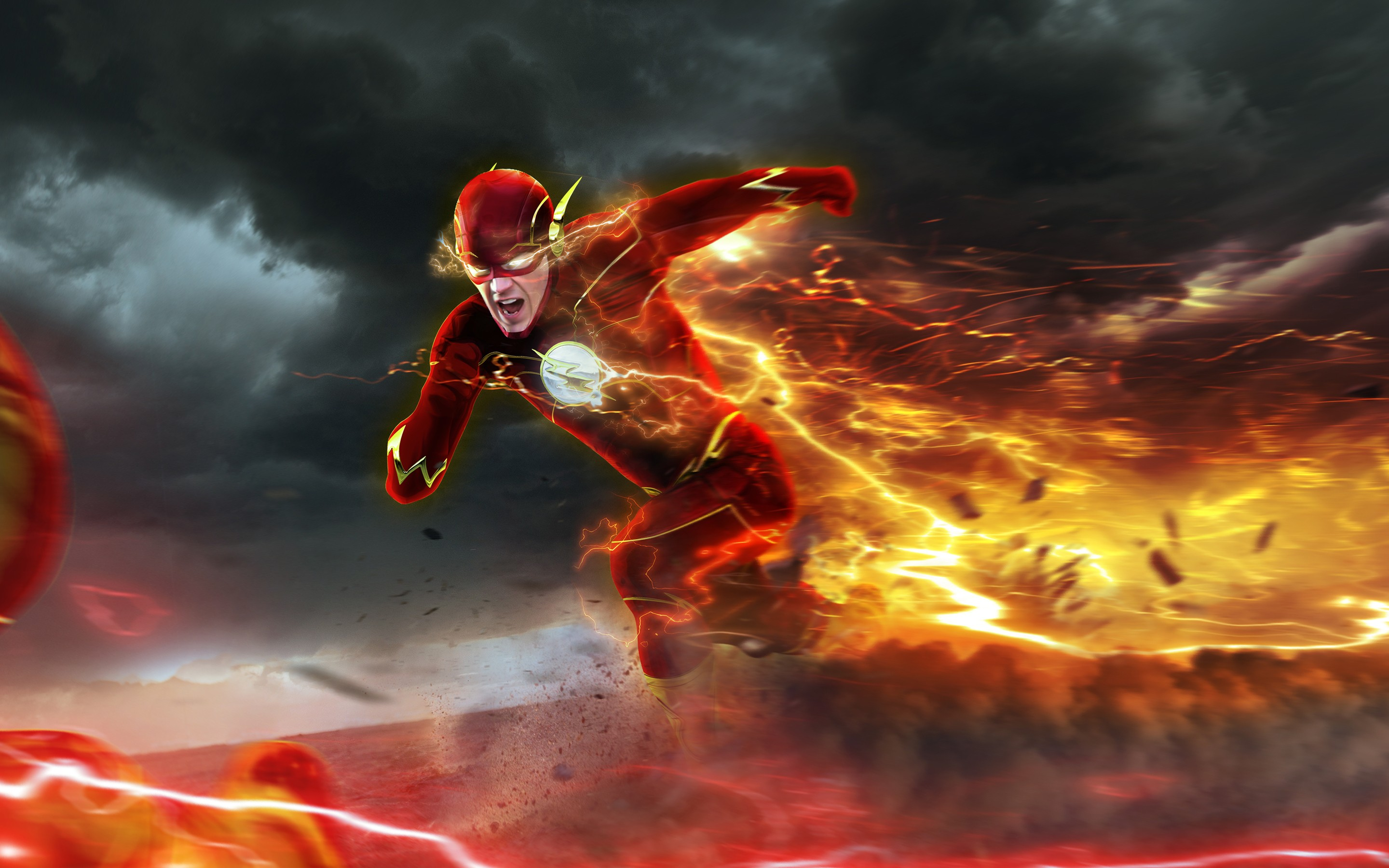barry allen in flash, hd tv shows, 4k wallpapers, images